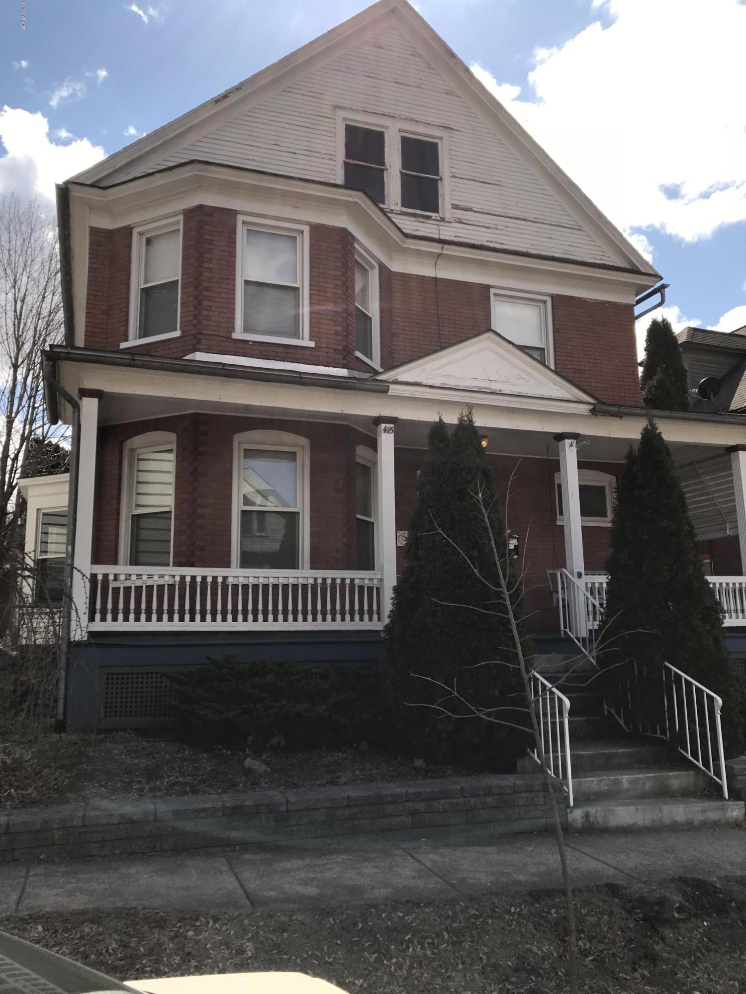 415 BRANDON AVENUE,Williamsport,PA 17701,3 Bedrooms Bedrooms,3 BathroomsBathrooms,Resid-lease/rental,BRANDON,WB-88001