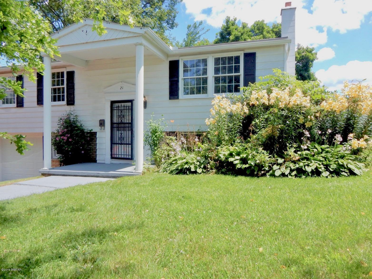 21 SYCAMORE LANE,Milton,PA 17847,2 Bedrooms Bedrooms,2 BathroomsBathrooms,Residential,SYCAMORE,WB-88007