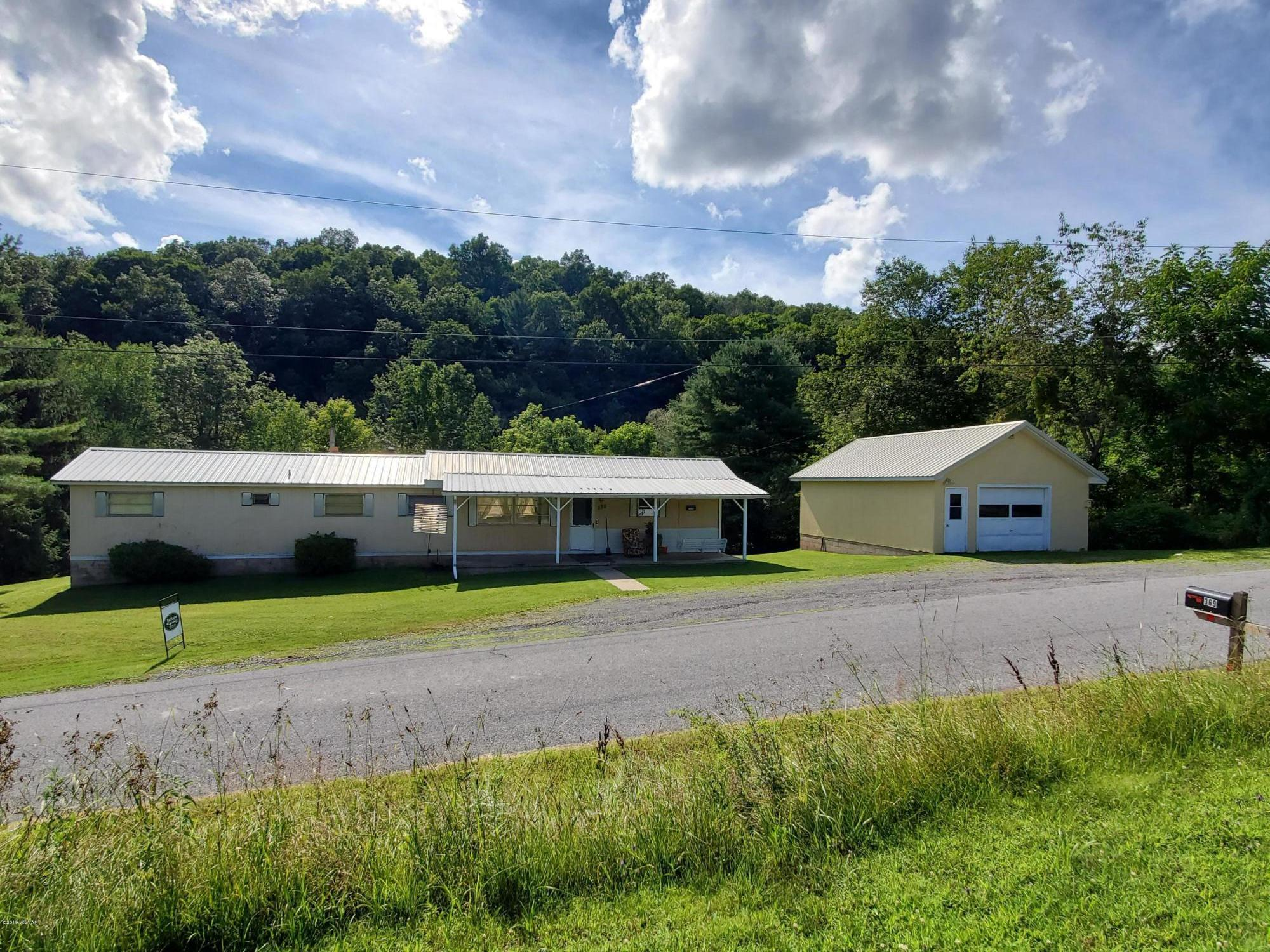369 BRUCE ROAD,Cogan Station,PA 17728,3 Bedrooms Bedrooms,1 BathroomBathrooms,Residential,BRUCE,WB-88015