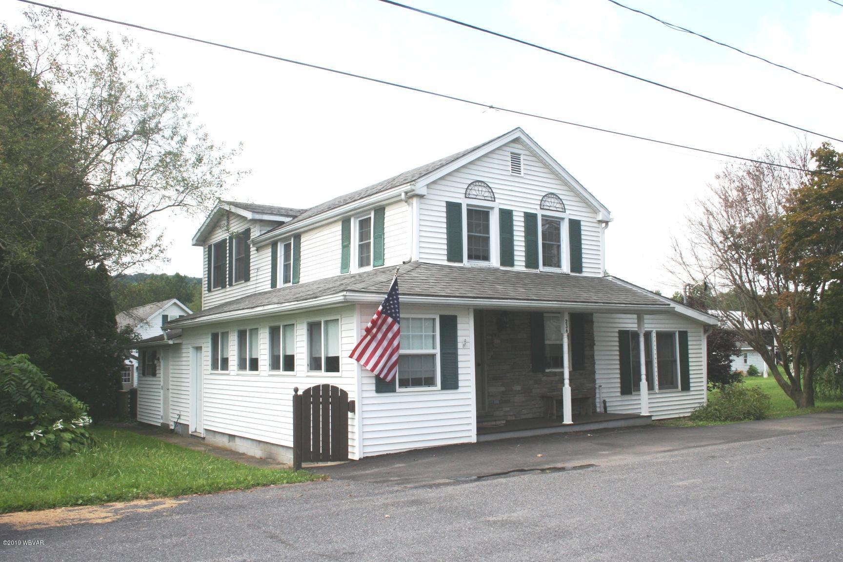 236 BUCK STREET,Muncy,PA 17756,3 Bedrooms Bedrooms,1.75 BathroomsBathrooms,Residential,BUCK,WB-88237