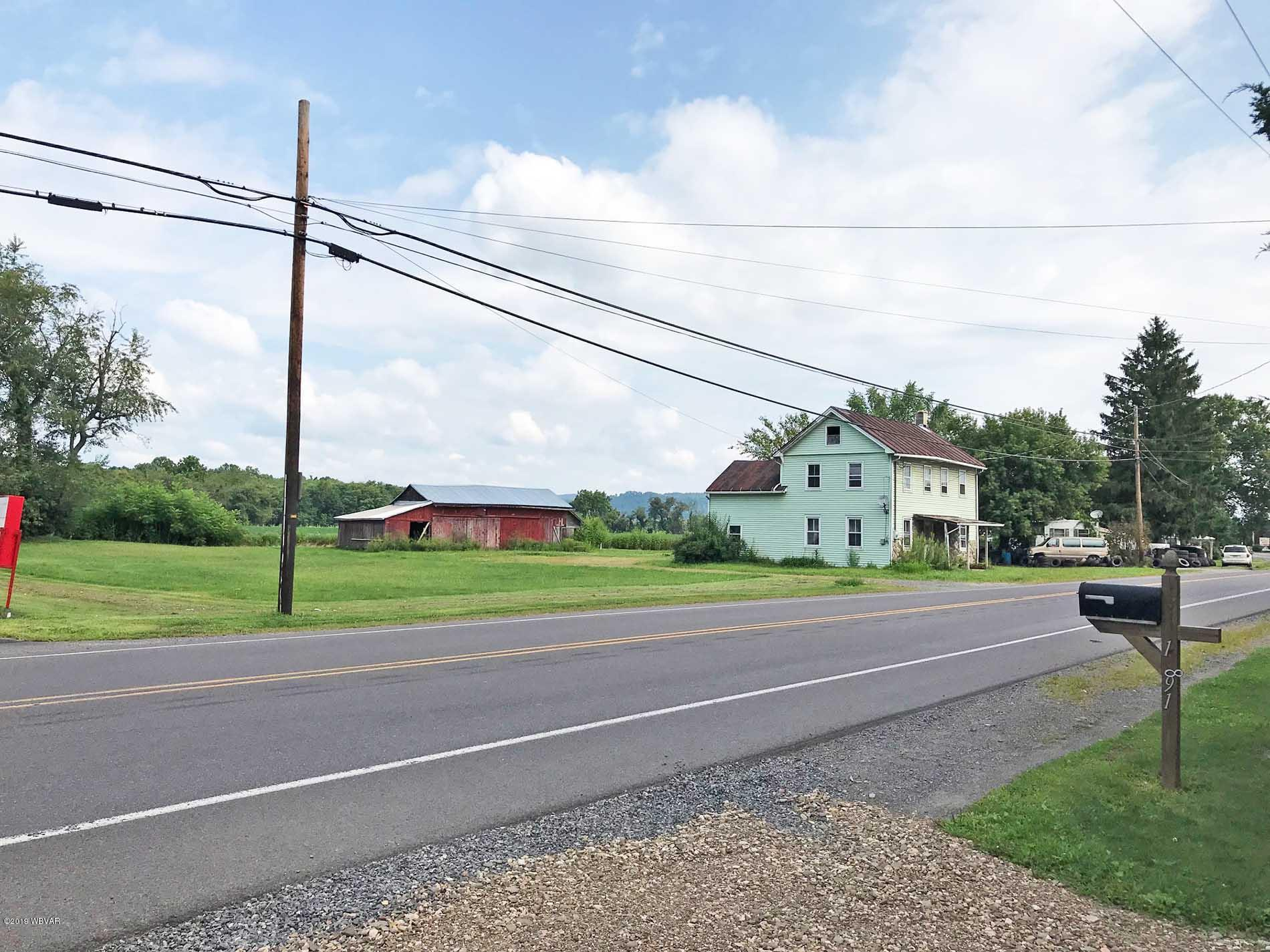 1874 PA-405 HIGHWAY,Muncy,PA 17756,1 BathroomBathrooms,Commercial sales,PA-405,WB-88274