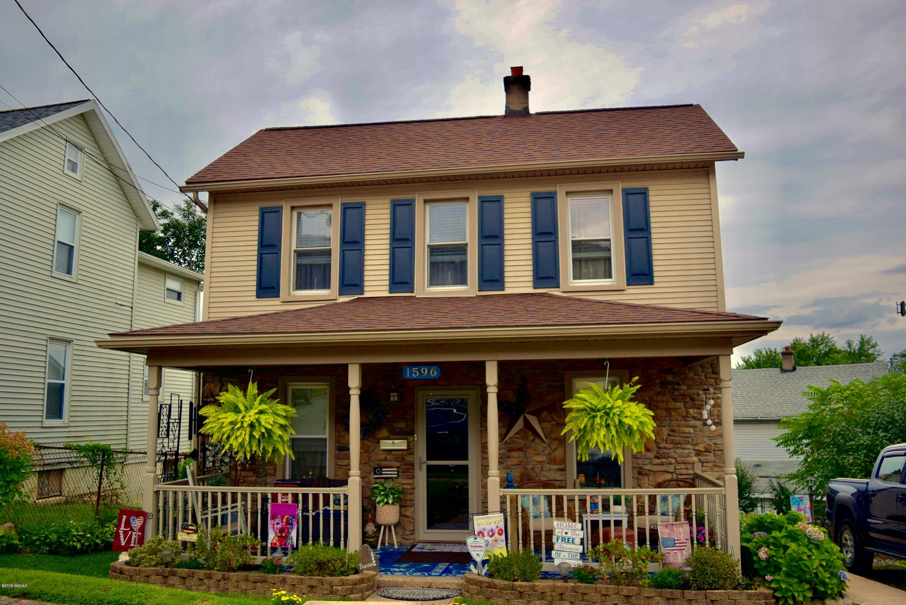 1596 SOUTHERN AVENUE,S. Williamsport,PA 17702,2 Bedrooms Bedrooms,1.5 BathroomsBathrooms,Residential,SOUTHERN,WB-88257