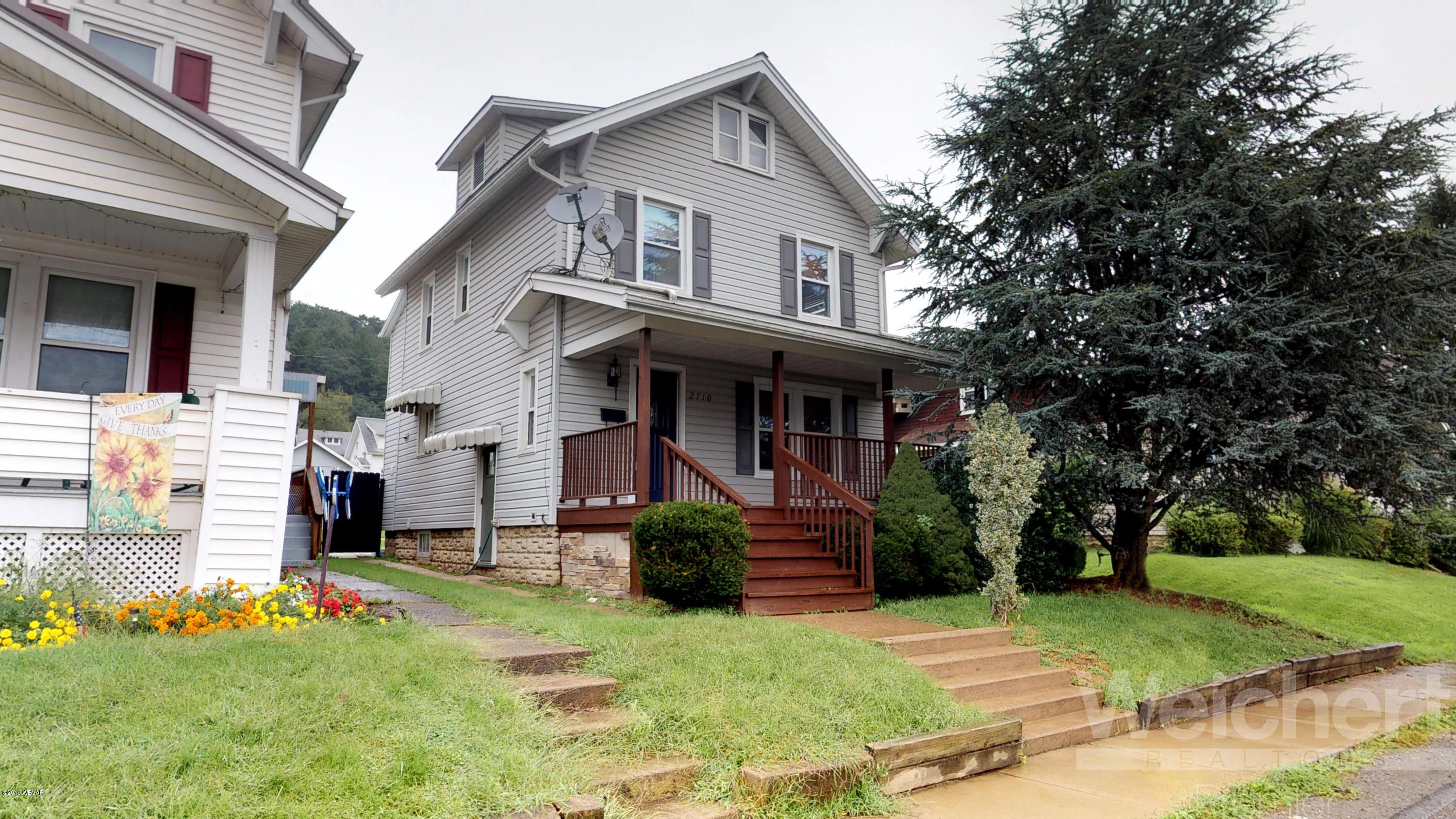 2710 GRAND STREET,Williamsport,PA 17701,3 Bedrooms Bedrooms,2 BathroomsBathrooms,Residential,GRAND,WB-88540
