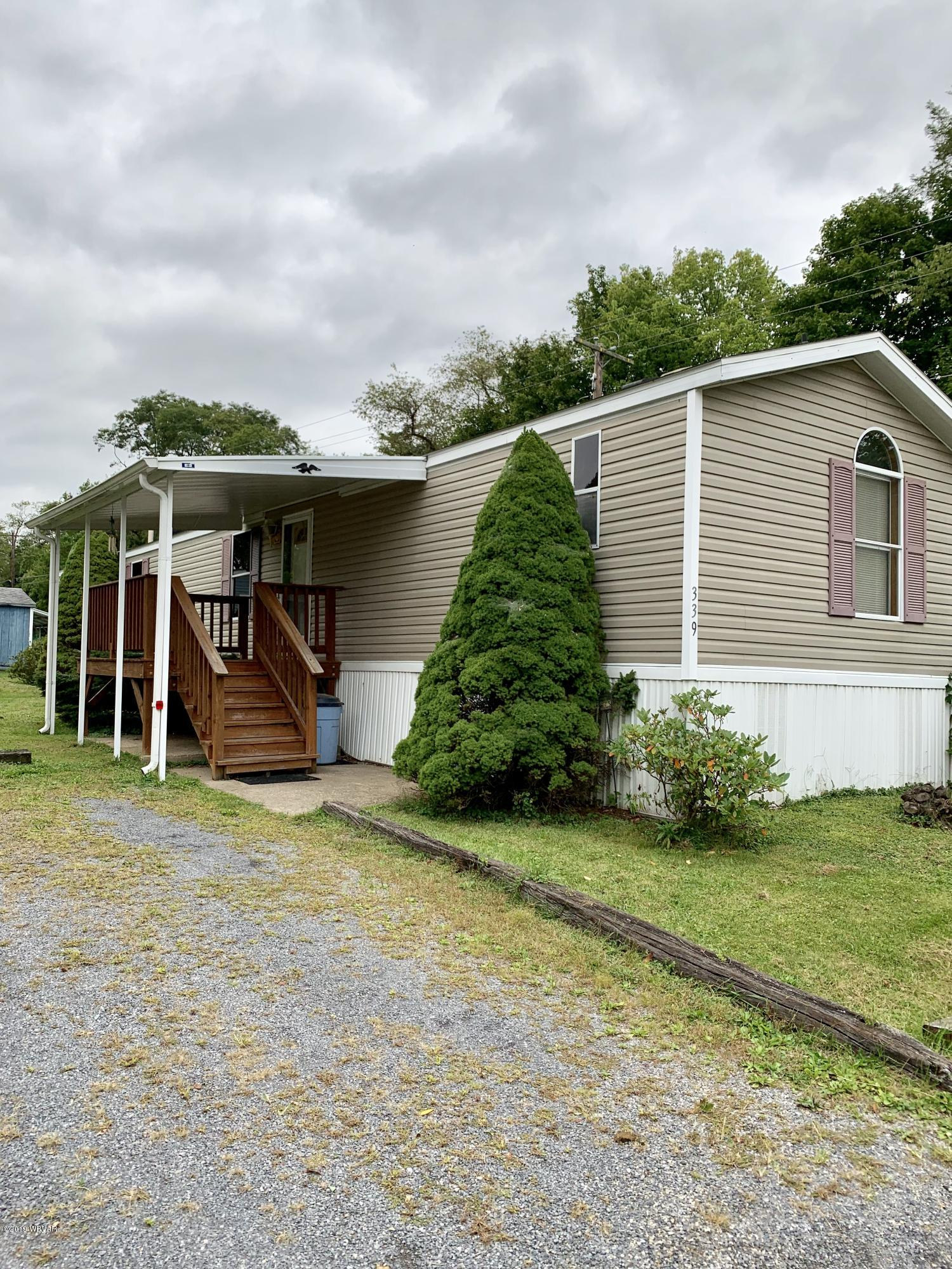 339 SHADY ACRES LANE,Jersey Shore,PA 17740,3 Bedrooms Bedrooms,2 BathroomsBathrooms,Residential,SHADY ACRES,WB-88559