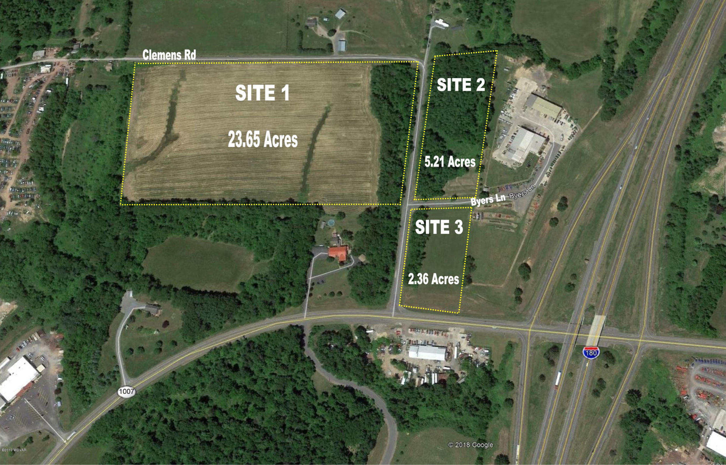 CLEMENS ROAD,Watsontown,PA 17777,Land,CLEMENS,WB-88586
