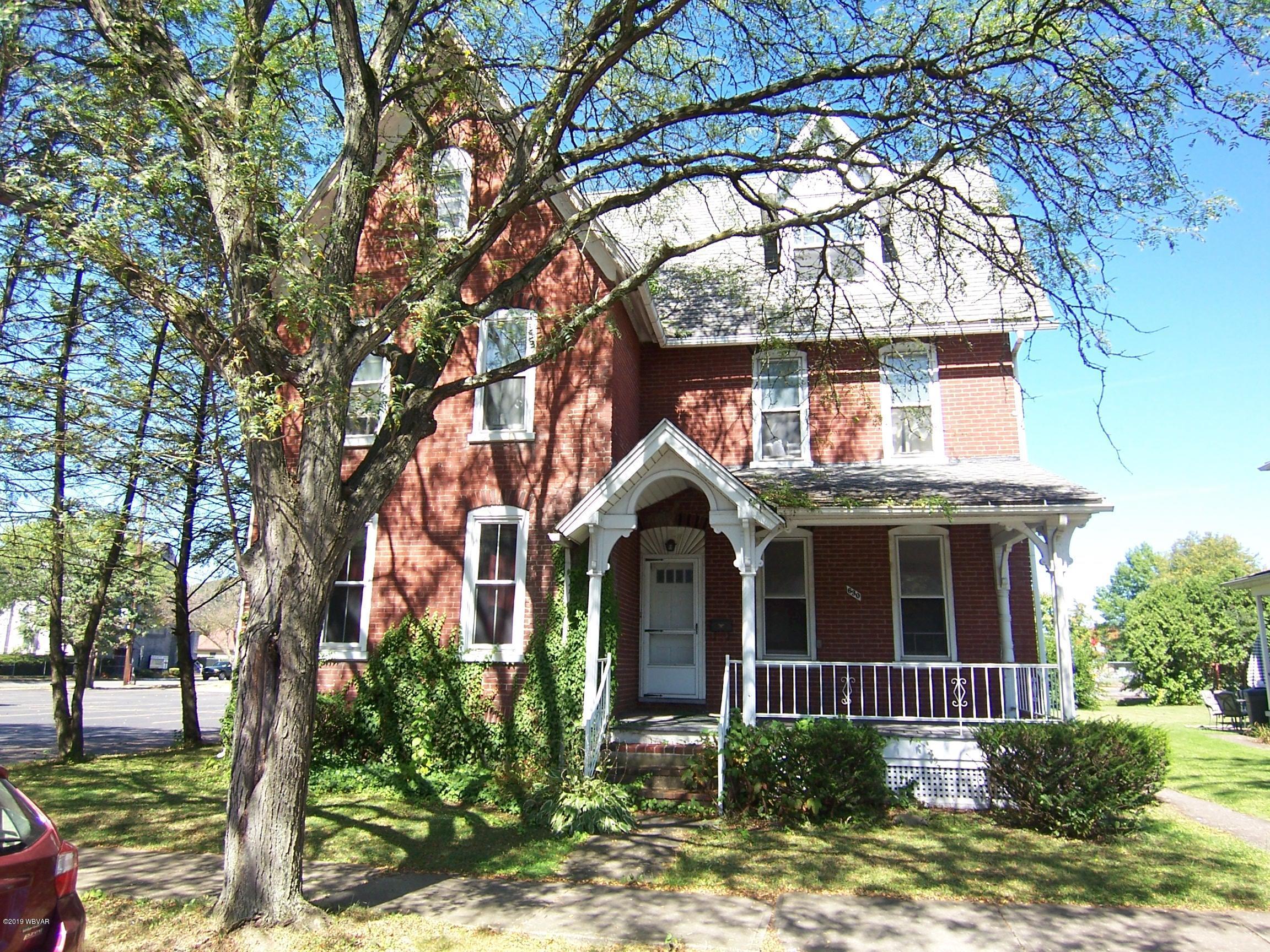 630 EDWIN STREET,Williamsport,PA 17701,6 Bedrooms Bedrooms,3.5 BathroomsBathrooms,Residential,EDWIN,WB-88593