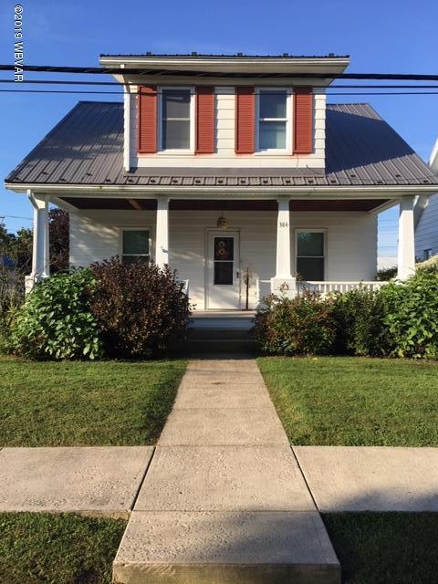 384 BROADWAY STREET,Hughesville,PA 17737,3 Bedrooms Bedrooms,1 BathroomBathrooms,Residential,BROADWAY,WB-88604
