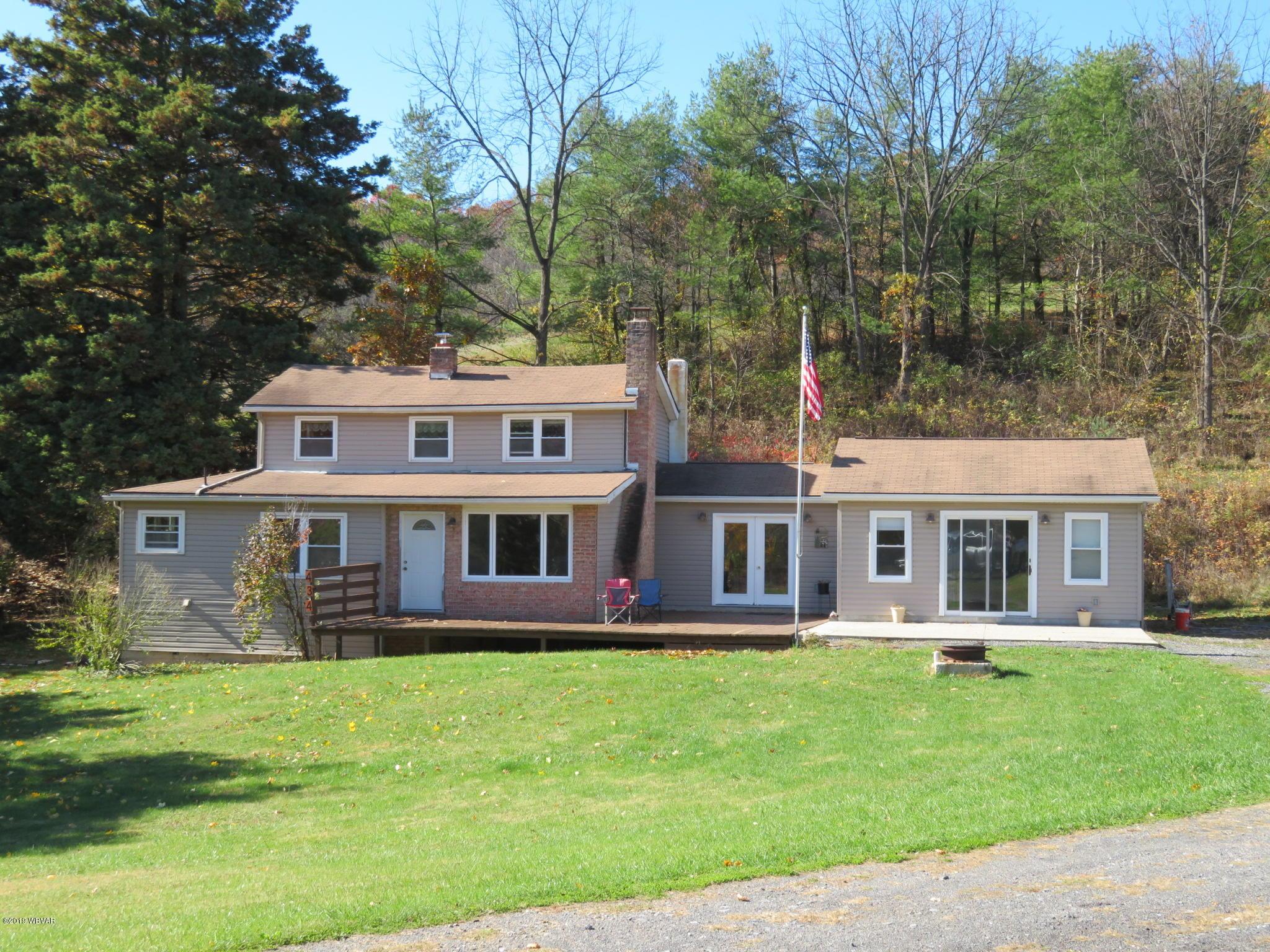 434 MYERS LANE,Julian,PA 16844,3 Bedrooms Bedrooms,1 BathroomBathrooms,Farm,MYERS,WB-89010
