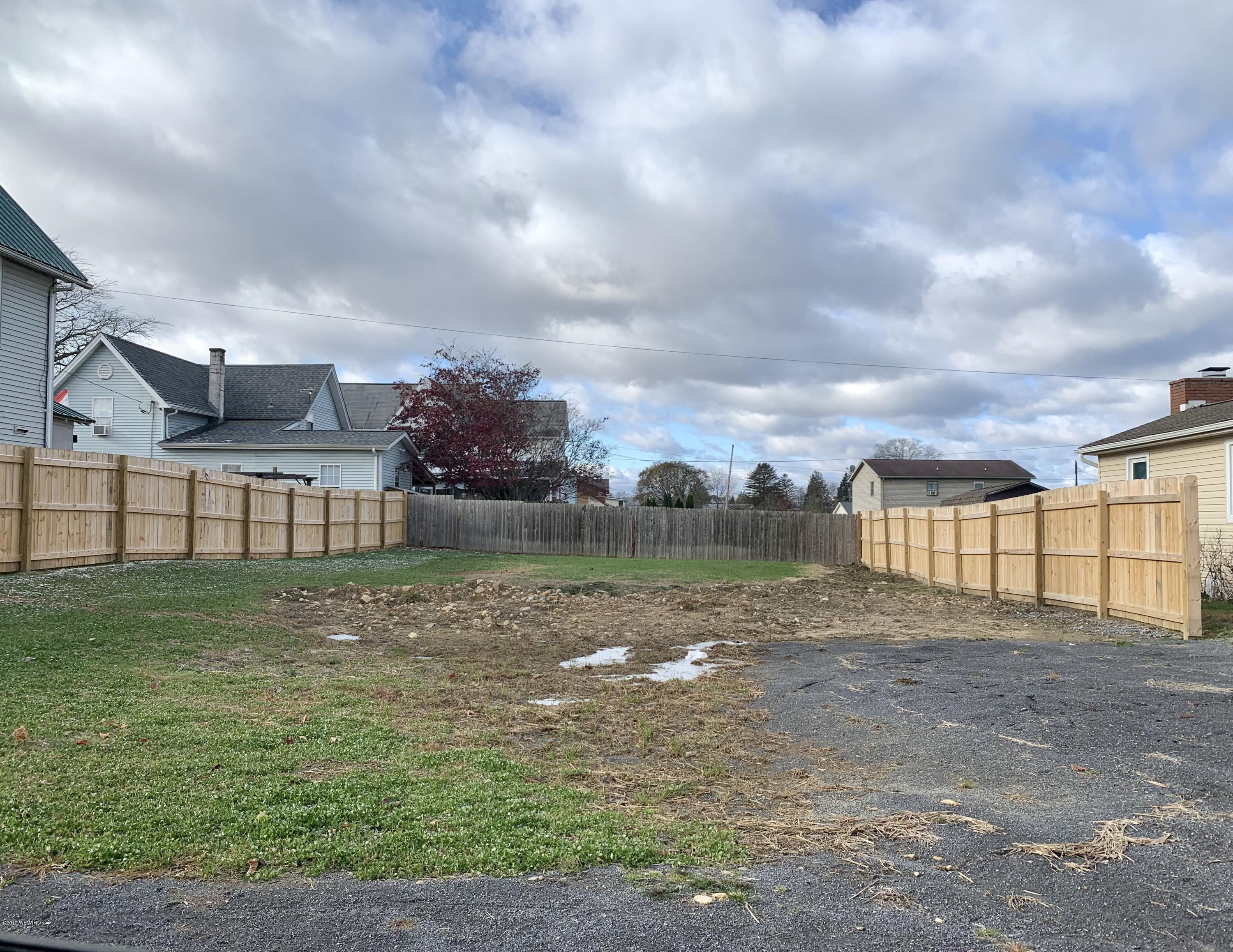 228 GLOVER STREET, Jersey Shore, PA 17740, ,Land,For sale,GLOVER,WB-89080