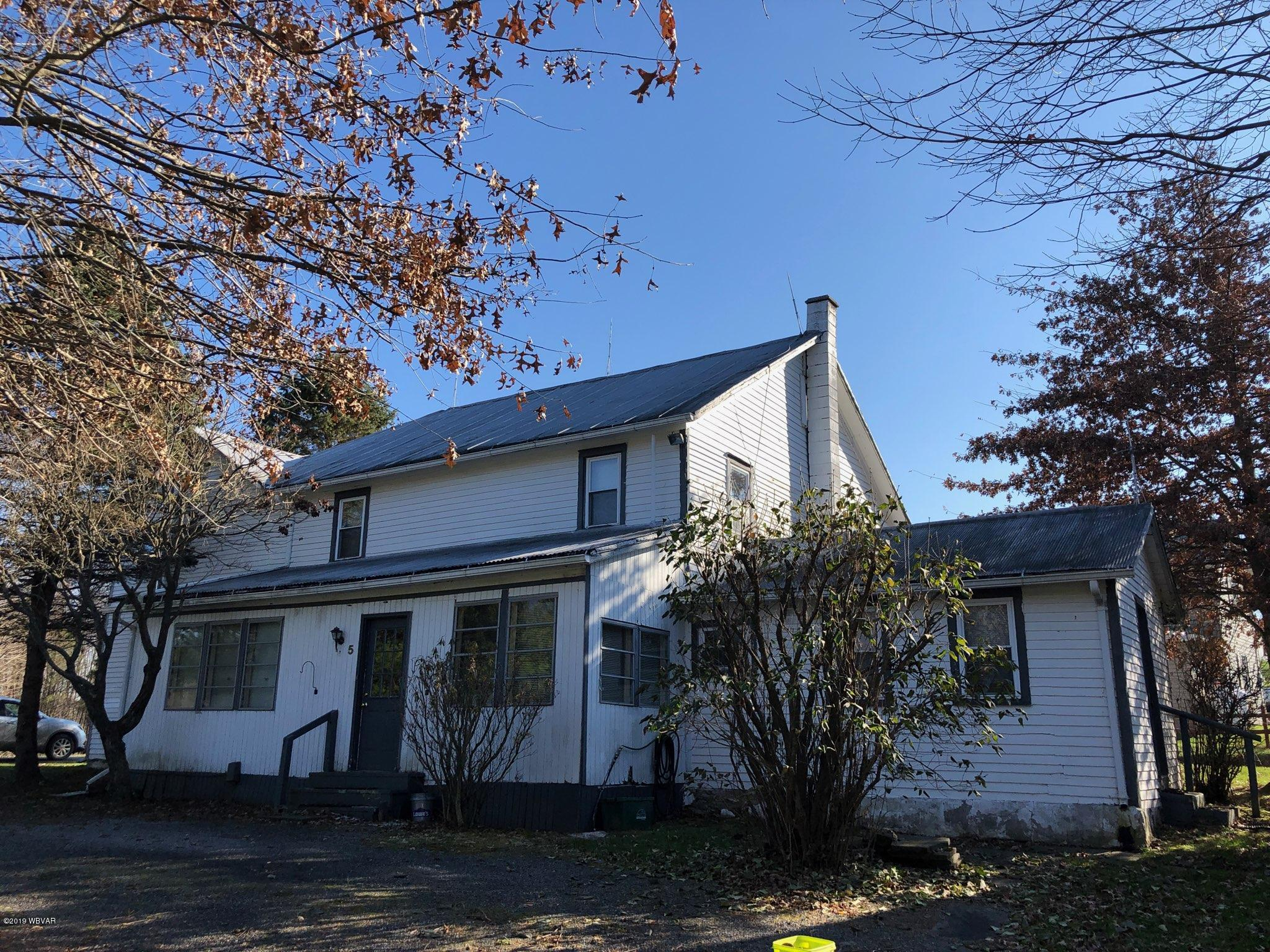 5 DUTCHTOWN ROAD, Hughesville, PA 17737, 6 Bedrooms Bedrooms, ,1.5 BathroomsBathrooms,Residential,For sale,DUTCHTOWN,WB-89096