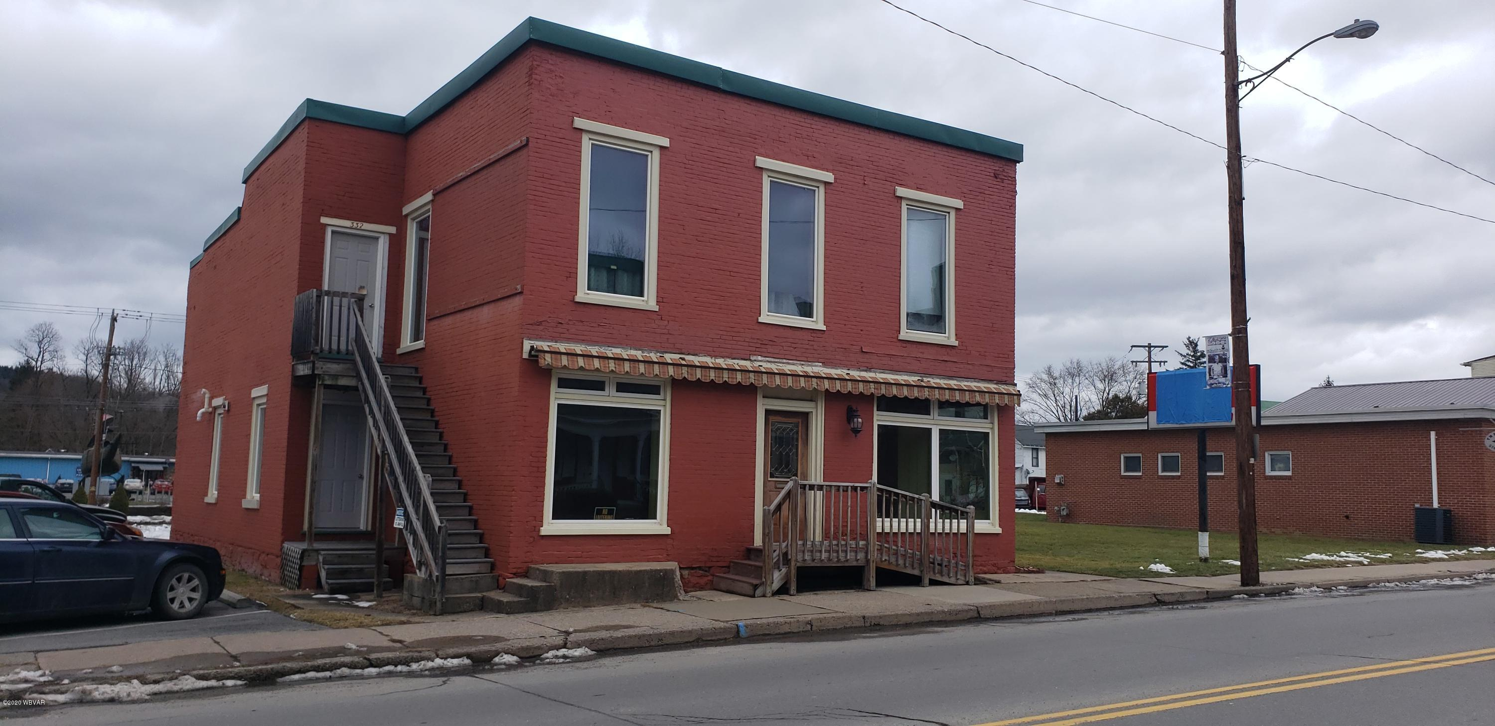 328 ALLEGHENY STREET, Jersey Shore, PA 17740, ,Multi-units,For sale,ALLEGHENY,WB-89456