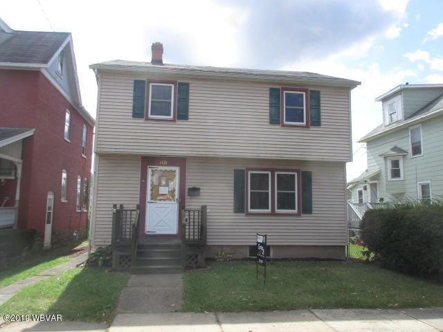 1131 PARK AVENUE, Williamsport, PA 17701, 3 Bedrooms Bedrooms, ,2 BathroomsBathrooms,Residential,For sale,PARK,WB-89562
