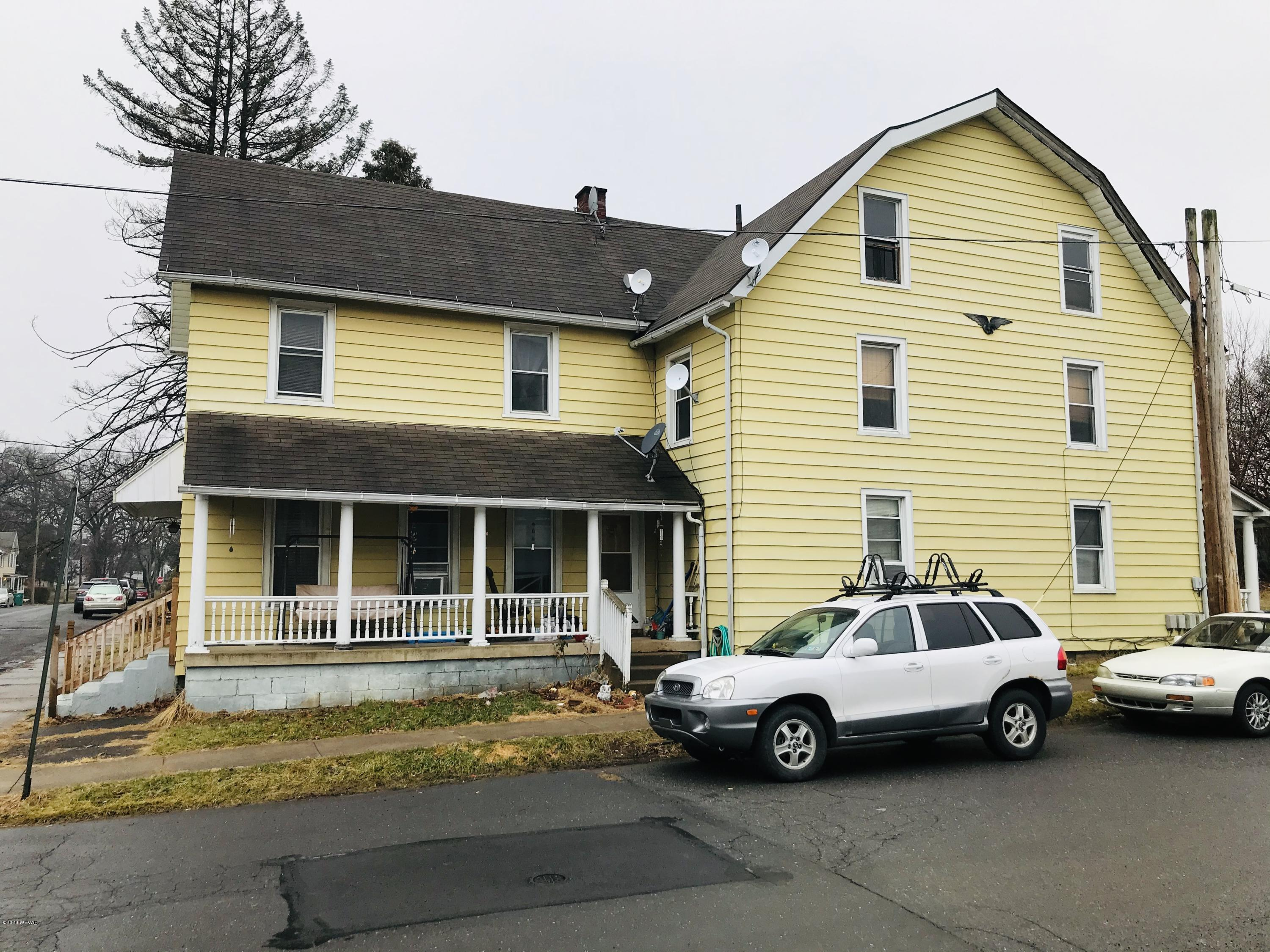 737-741 TUCKER STREET, Williamsport, PA 17701, ,Multi-units,For sale,TUCKER,WB-89573