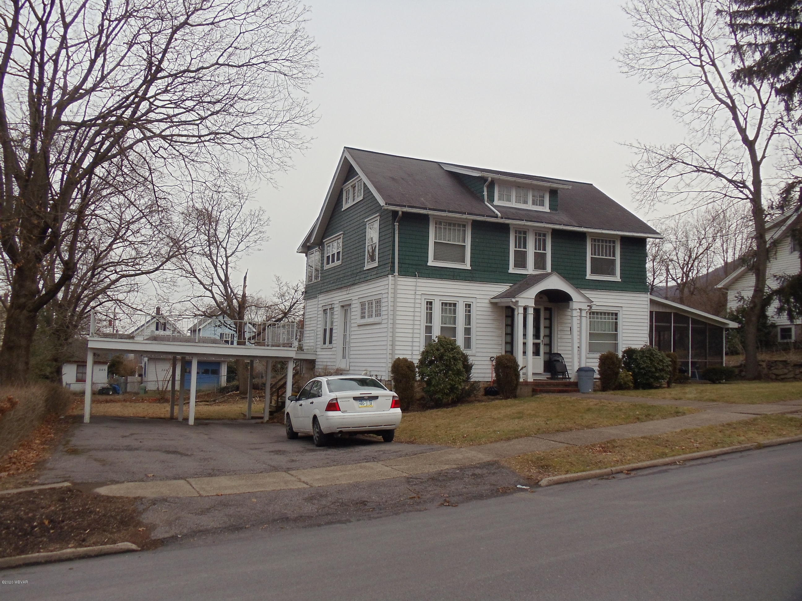 361 FISHER STREET, S. Williamsport, PA 17702, ,Multi-units,For sale,FISHER,WB-89606