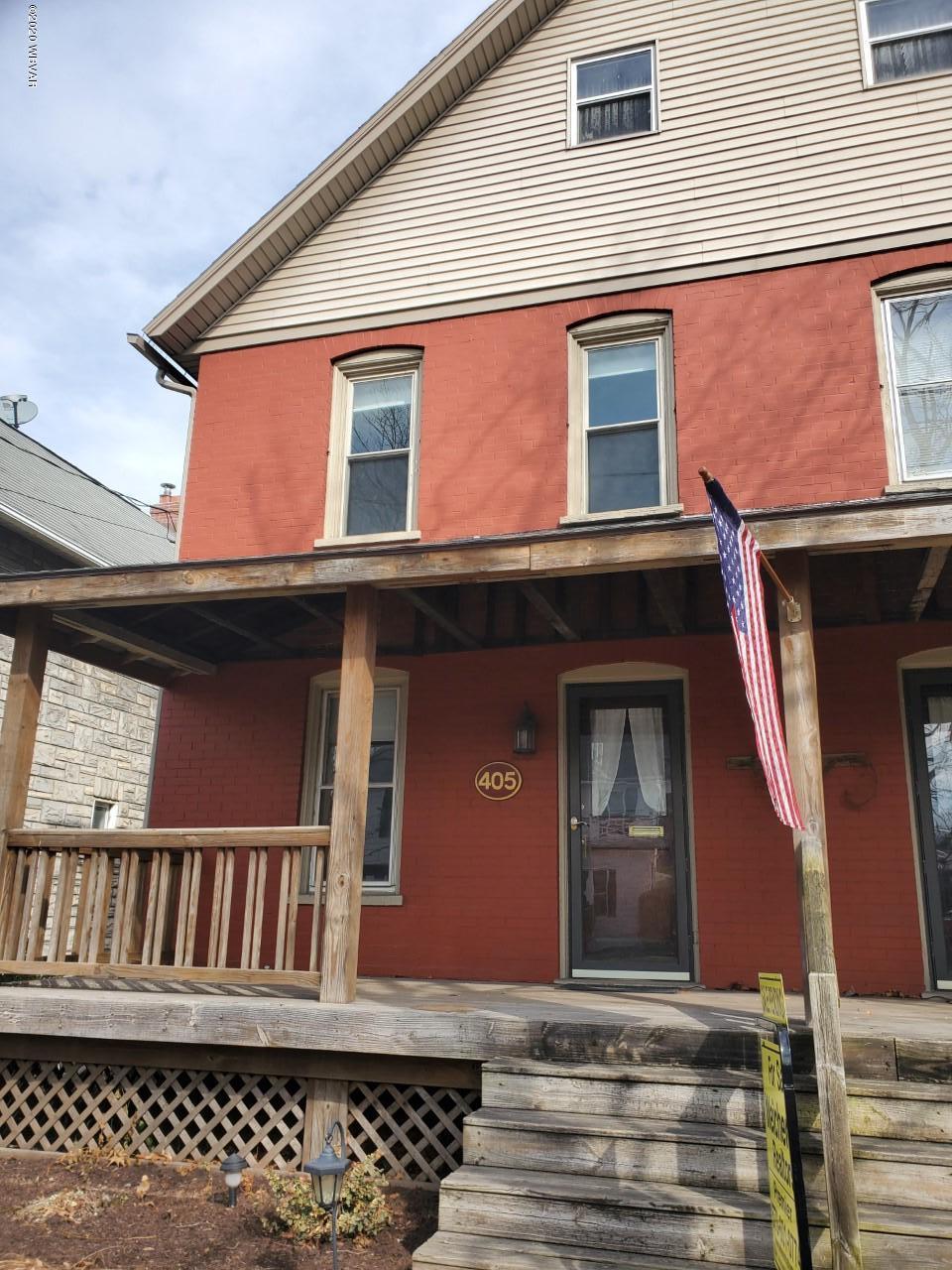 405 HASTINGS STREET,S. Williamsport,PA 17702,3 Bedrooms Bedrooms,1 BathroomBathrooms,Resid-lease/rental,HASTINGS,WB-89664