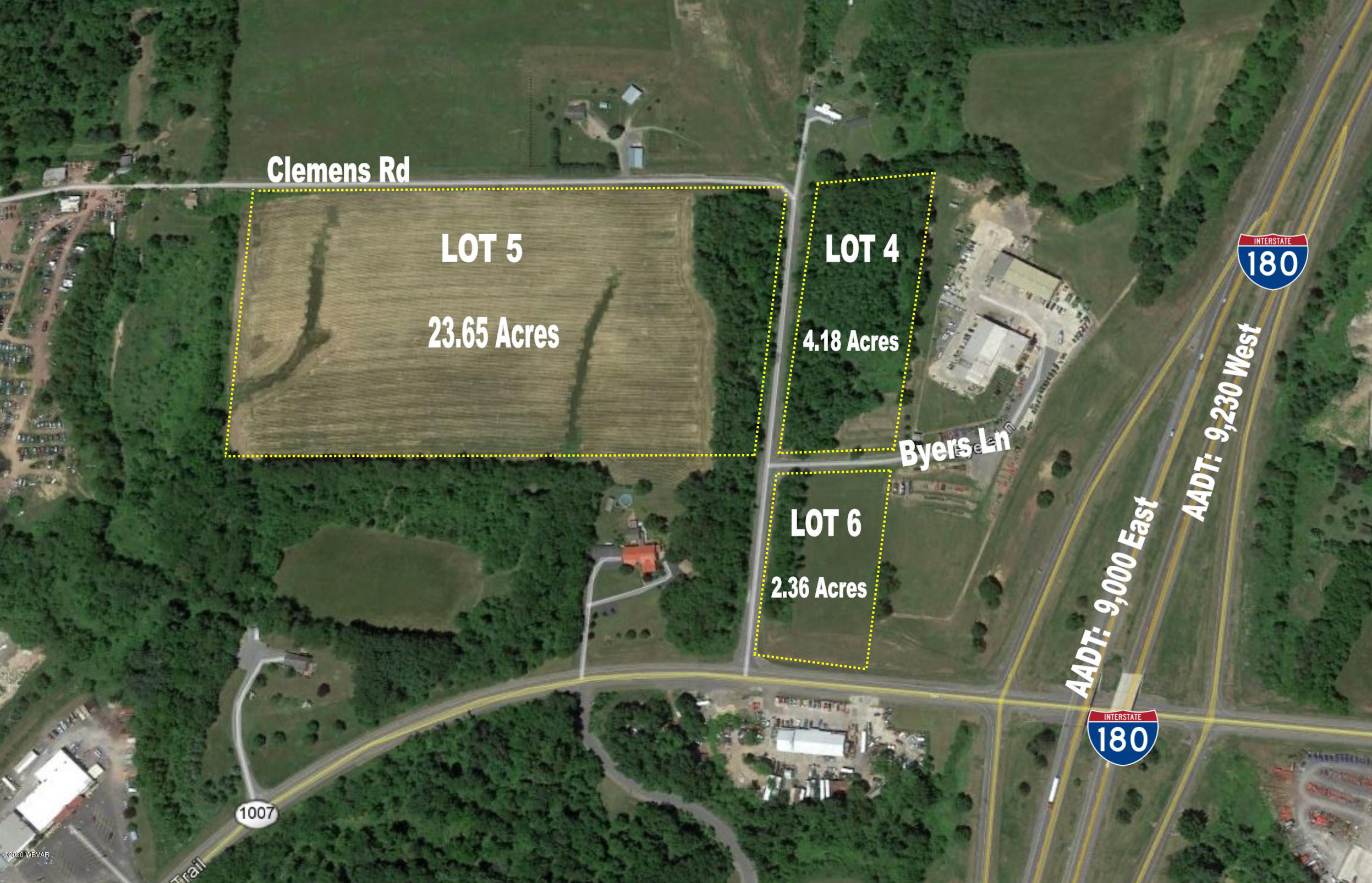 81 BYERS LANE, Watsontown, PA 17777, ,Land,For sale,BYERS,WB-88588
