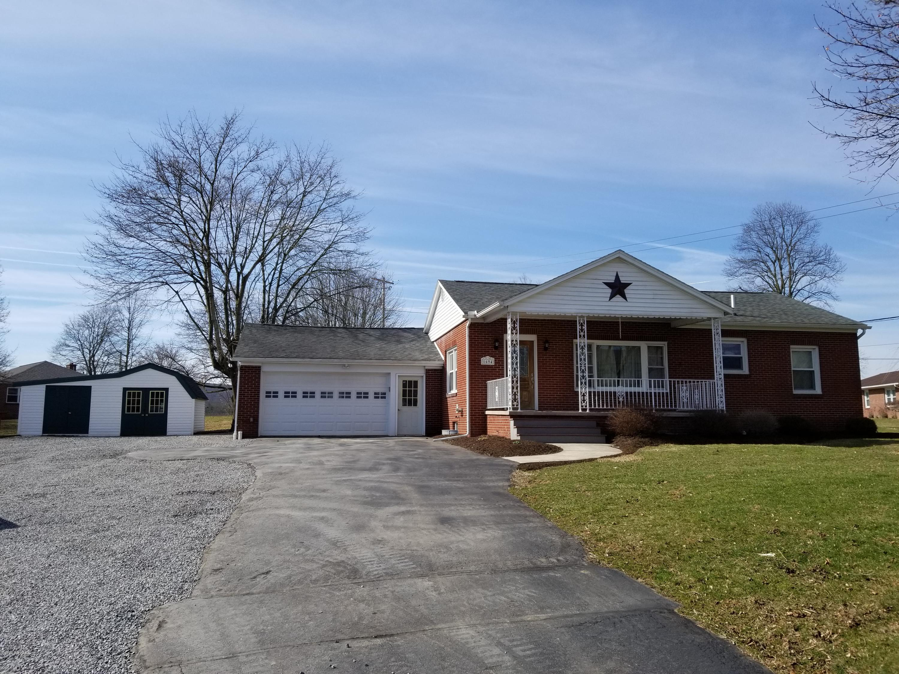 1694 RT 54 HIGHWAY,Montgomery,PA 17752,3 Bedrooms Bedrooms,1 BathroomBathrooms,Residential,RT 54,WB-89842