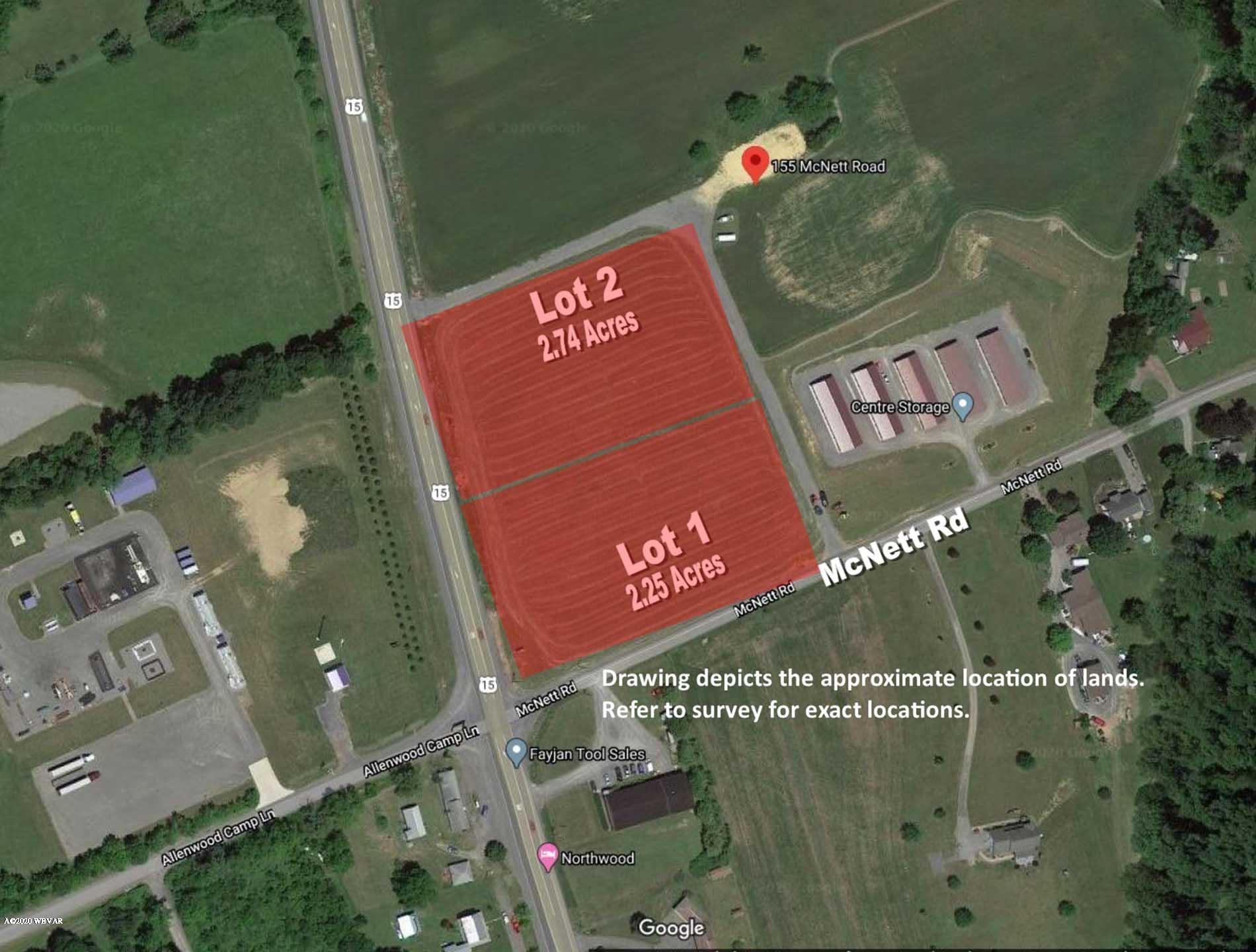155 MCNETT ROAD,Montgomery,PA 17752,Land,MCNETT,WB-89854