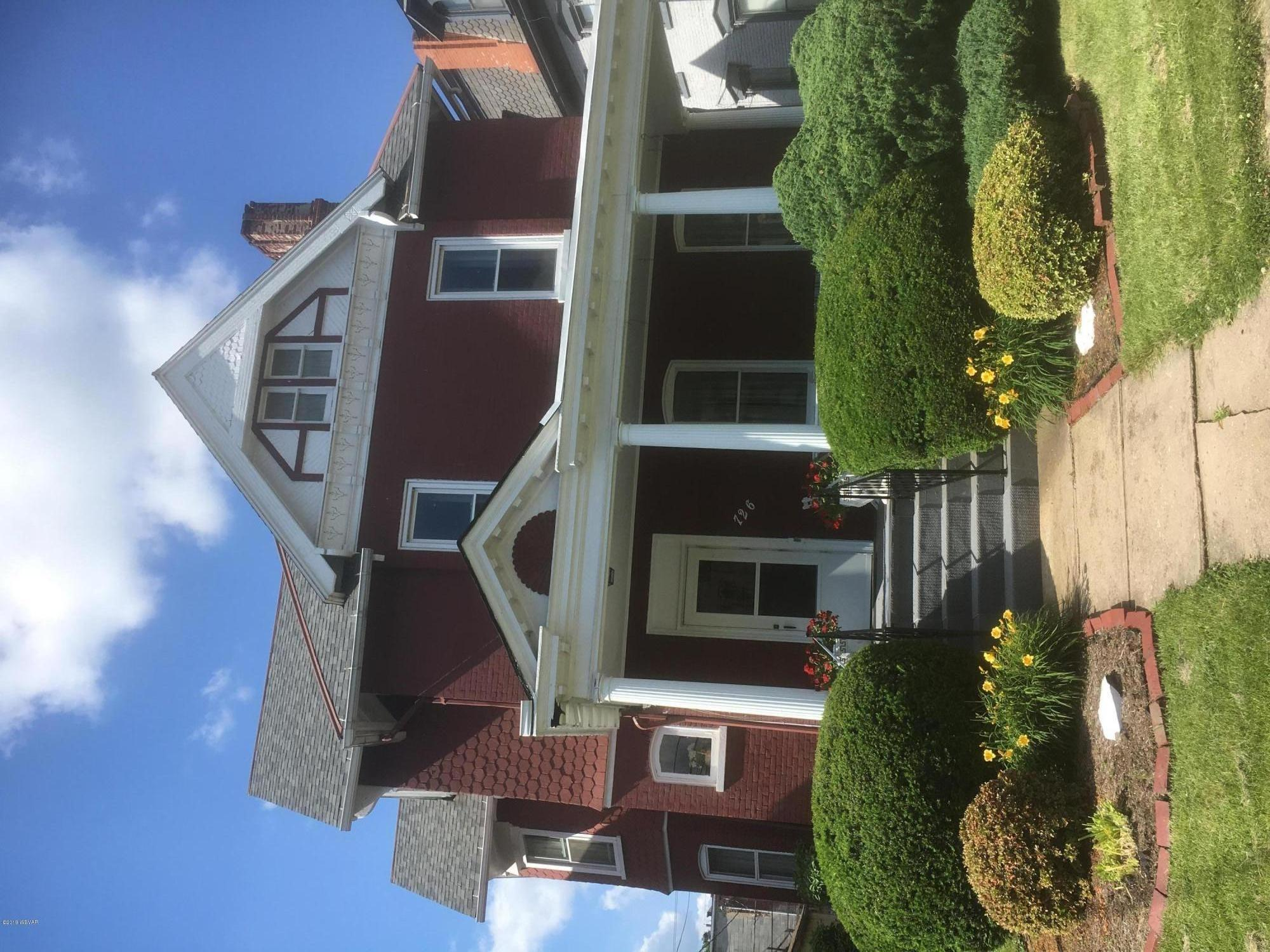 726 3RD STREET, Williamsport, PA 17701, 5 Bedrooms Bedrooms, ,2.5 BathroomsBathrooms,Residential,For sale,3RD,WB-88005