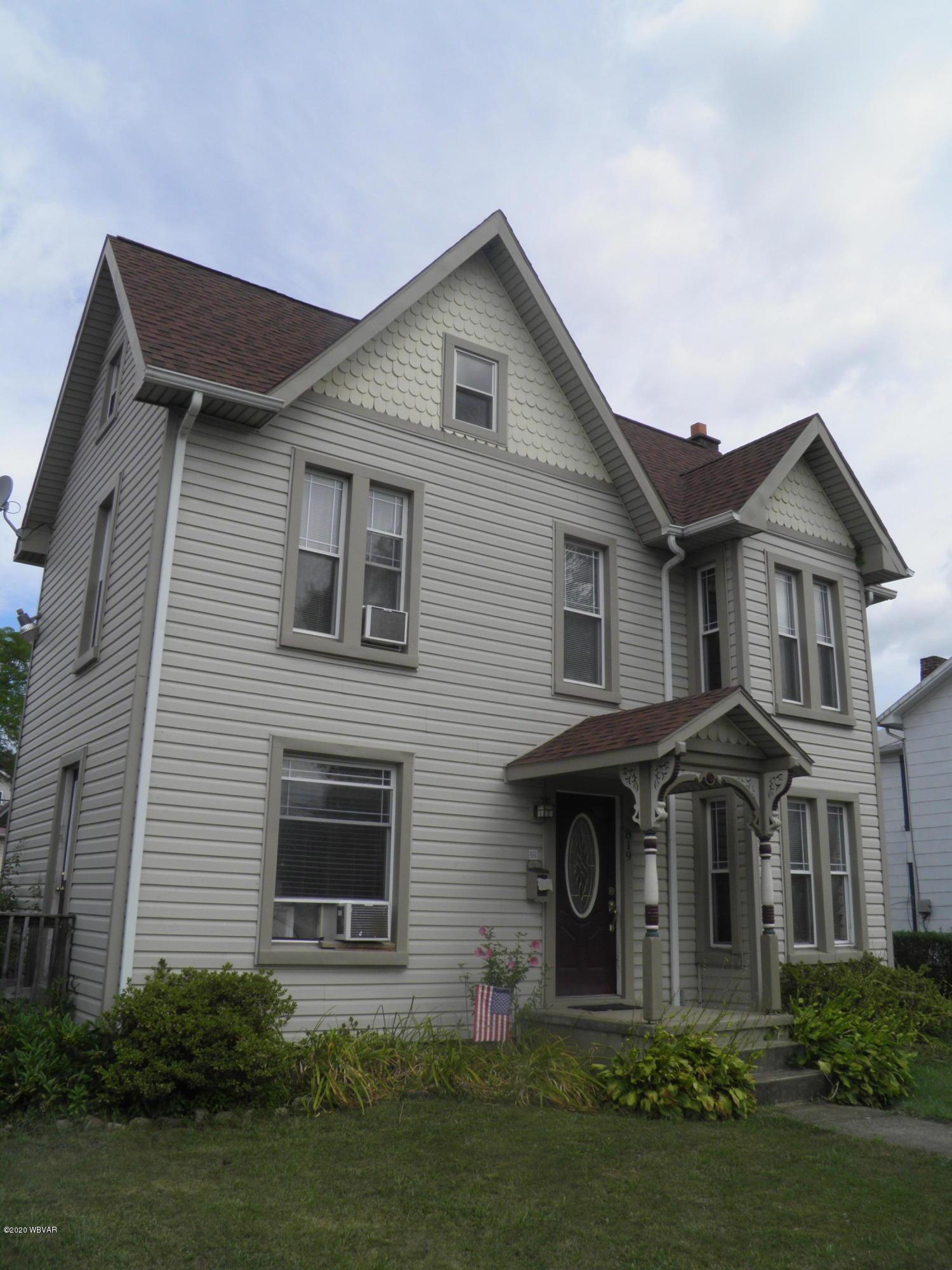 819 BELLEFONTE AVENUE, Lock Haven, PA 17745, 4 Bedrooms Bedrooms, ,2 BathroomsBathrooms,Residential,For sale,BELLEFONTE,WB-90762