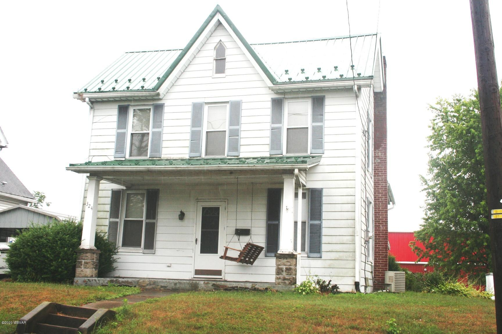 324 PENN STREET, Muncy, PA 17756, 3 Bedrooms Bedrooms, ,1 BathroomBathrooms,Residential,For sale,PENN,WB-90794