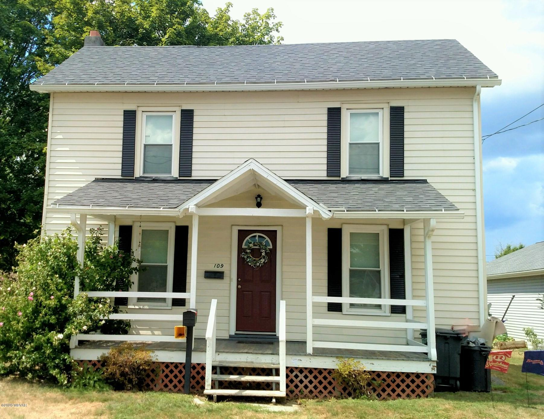 109 PALMER AVENUE, Mill Hall, PA 17751, 3 Bedrooms Bedrooms, ,1.5 BathroomsBathrooms,Residential,For sale,PALMER,WB-90932