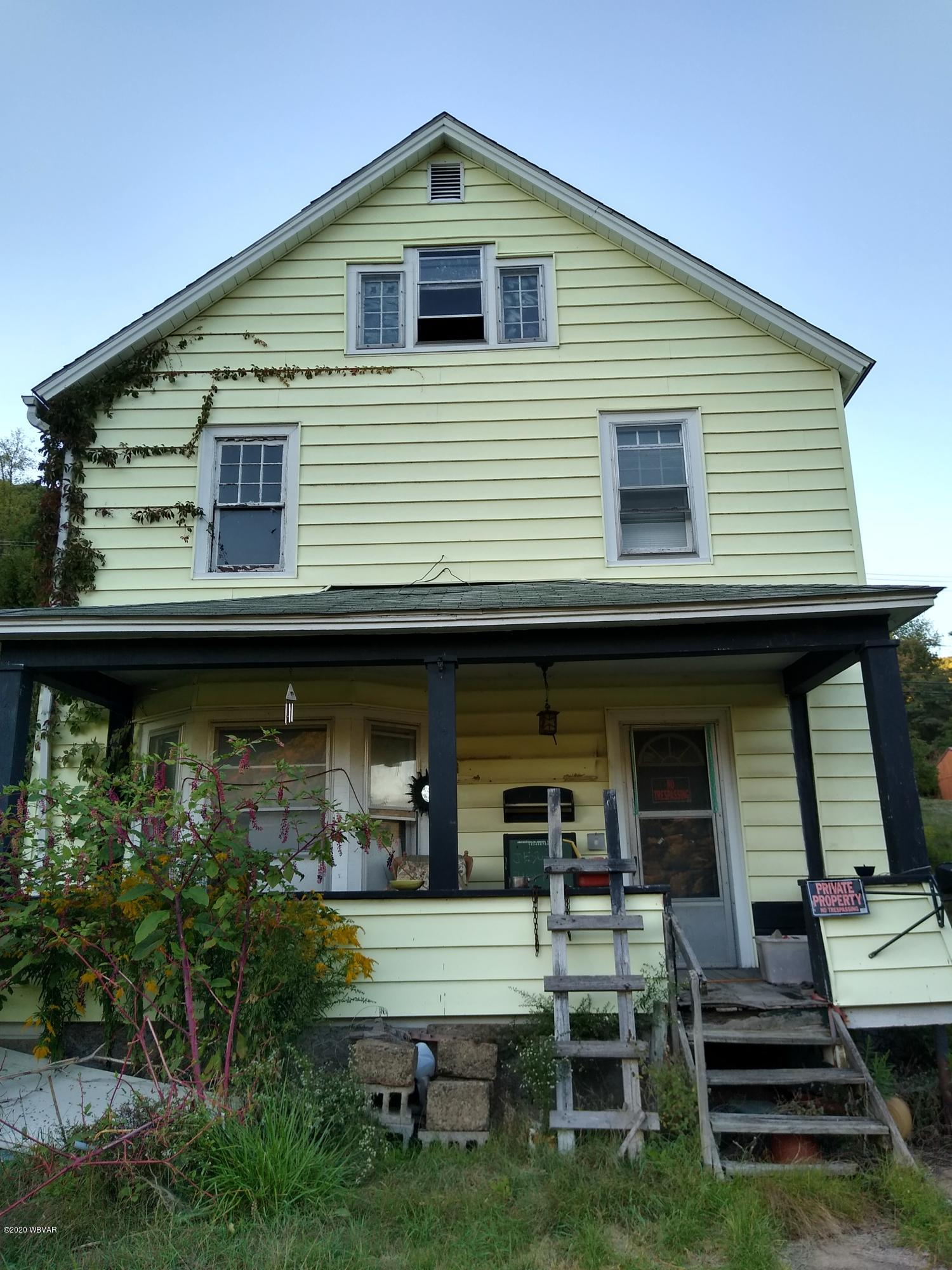 2034 DELAWARE AVENUE, Renovo, PA 17764, 4 Bedrooms Bedrooms, ,1 BathroomBathrooms,Residential,For sale,DELAWARE,WB-91343