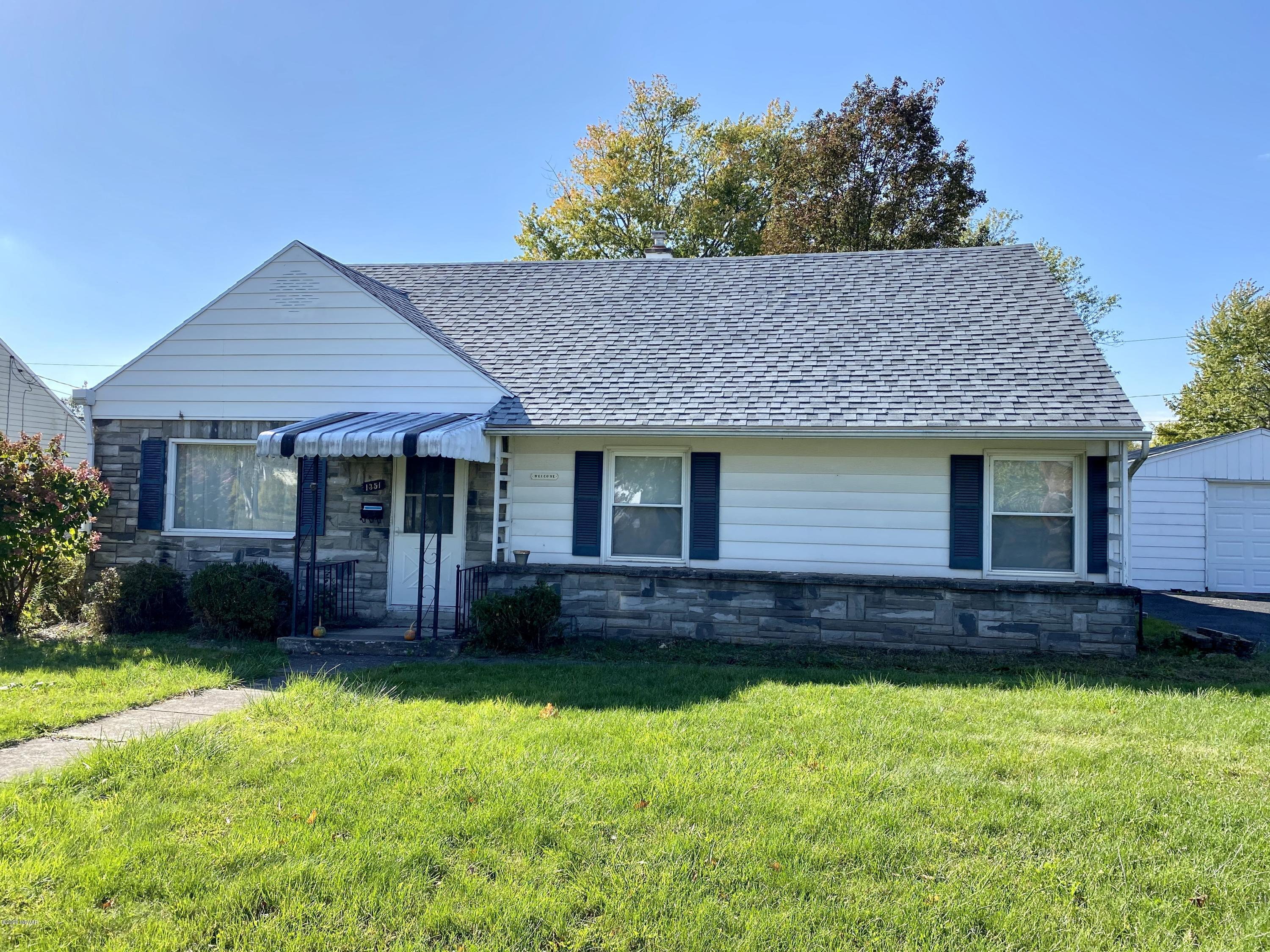 1351 PENNSYLVANIA AVENUE, Williamsport, PA 17701, 3 Bedrooms Bedrooms, ,1 BathroomBathrooms,Residential,For sale,PENNSYLVANIA,WB-91350