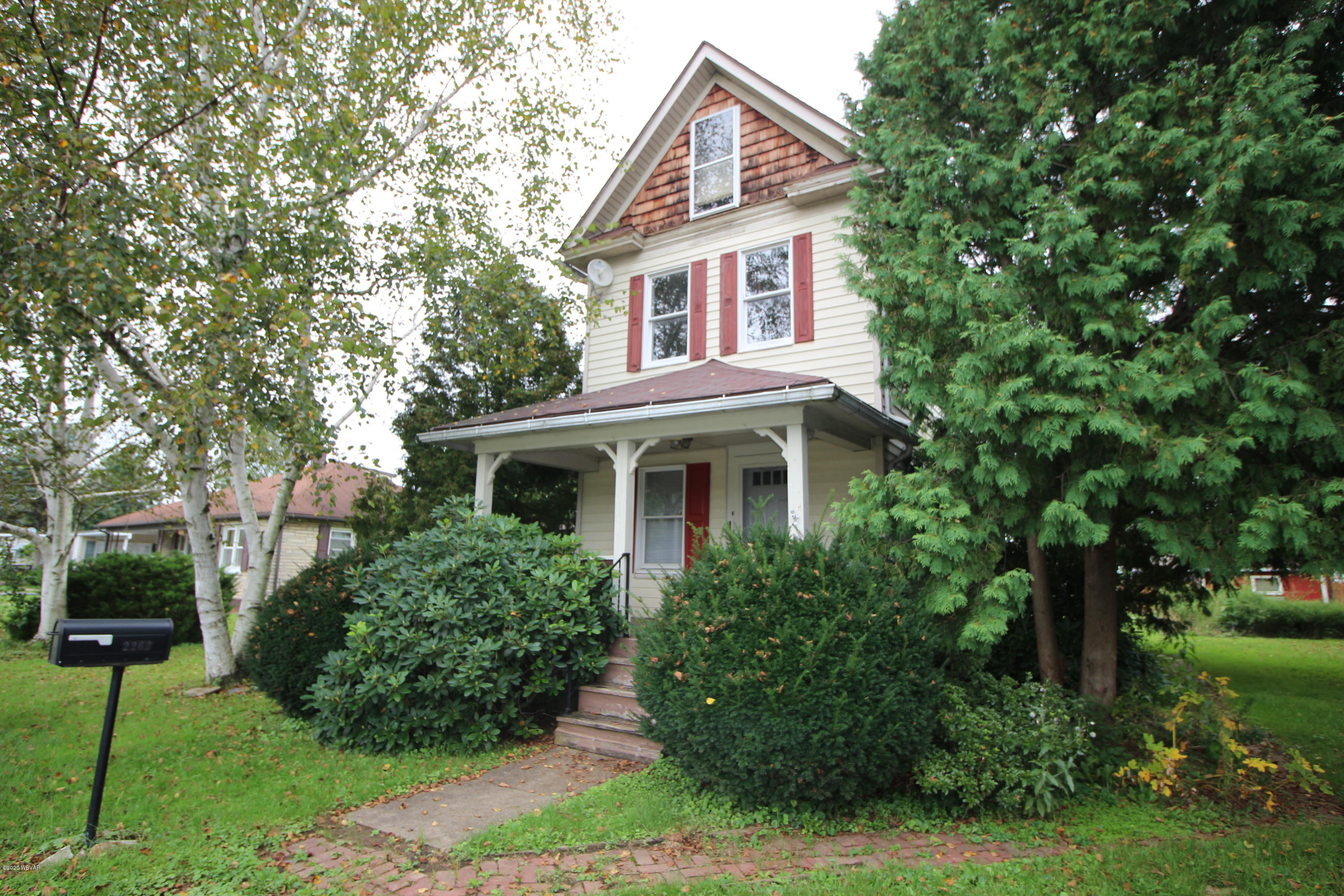 2262 CENTRAL AVENUE, Williamsport, PA 17701, 2 Bedrooms Bedrooms, ,1 BathroomBathrooms,Residential,For sale,CENTRAL,WB-91356