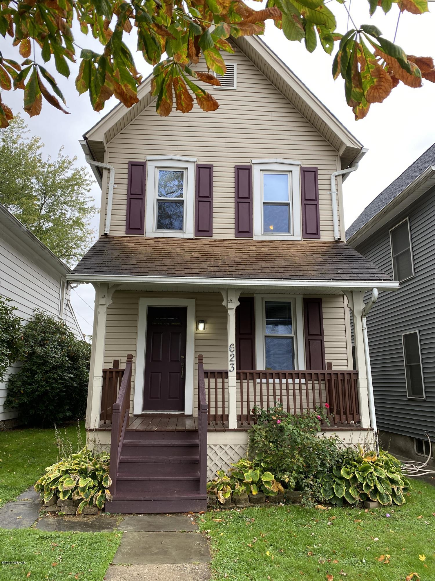 623 6TH AVENUE, Williamsport, PA 17701, 3 Bedrooms Bedrooms, ,2 BathroomsBathrooms,Residential,For sale,6TH,WB-91354