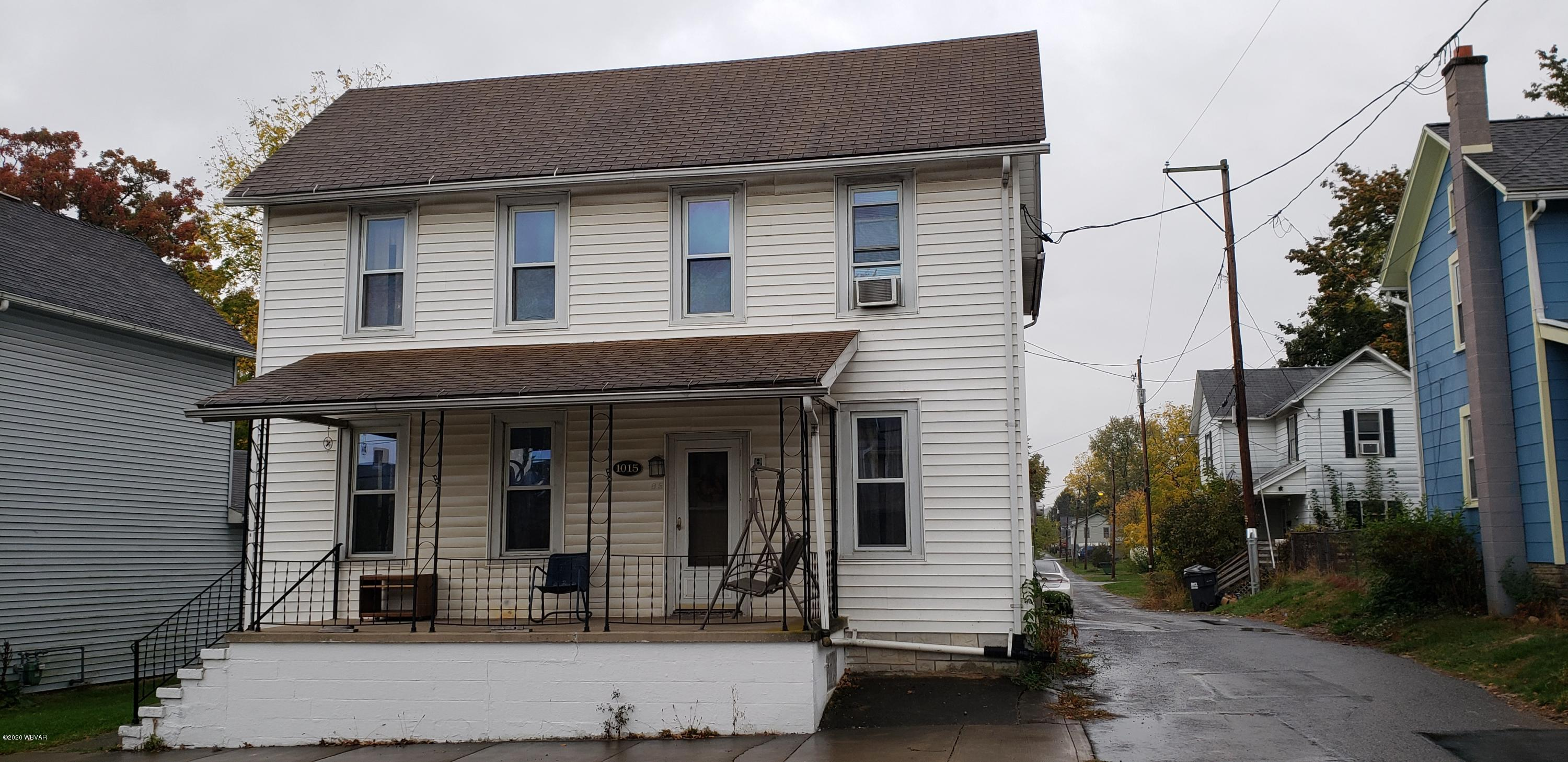 1015 RAILWAY STREET, Williamsport, PA 17701, 4 Bedrooms Bedrooms, ,1.5 BathroomsBathrooms,Residential,For sale,RAILWAY,WB-91373
