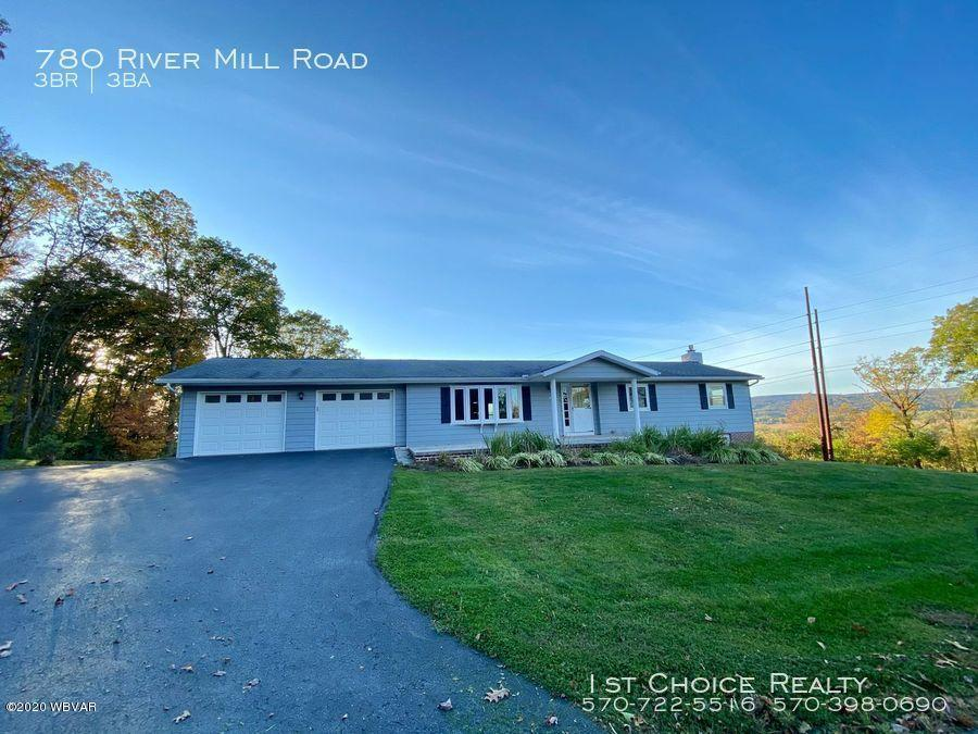 780 RIVER MILL ROAD, Jersey Shore, PA 17740, 3 Bedrooms Bedrooms, ,2.5 BathroomsBathrooms,Resid-lease/rental,For sale,RIVER MILL,WB-91374