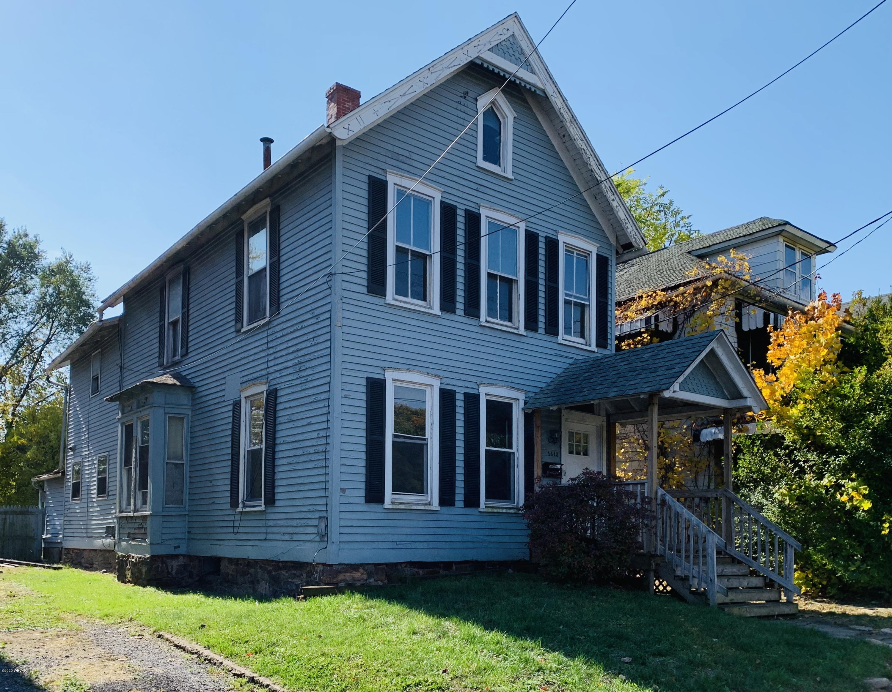 1413 4TH STREET, Williamsport, PA 17701, ,Multi-units,For sale,4TH,WB-91391