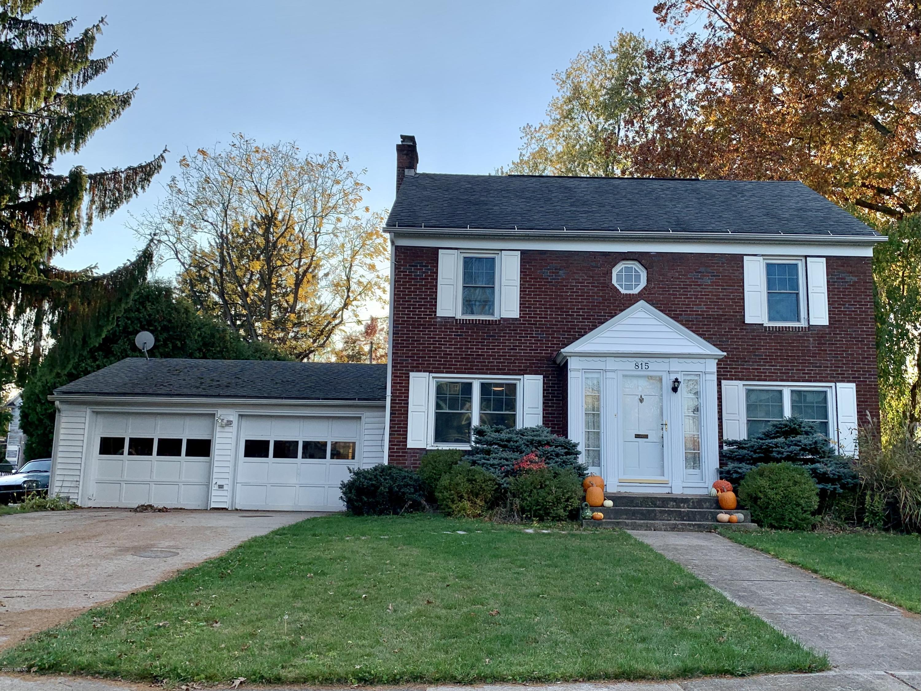 815 FAXON PARKWAY, Williamsport, PA 17701, 3 Bedrooms Bedrooms, ,1.5 BathroomsBathrooms,Residential,For sale,FAXON,WB-91404