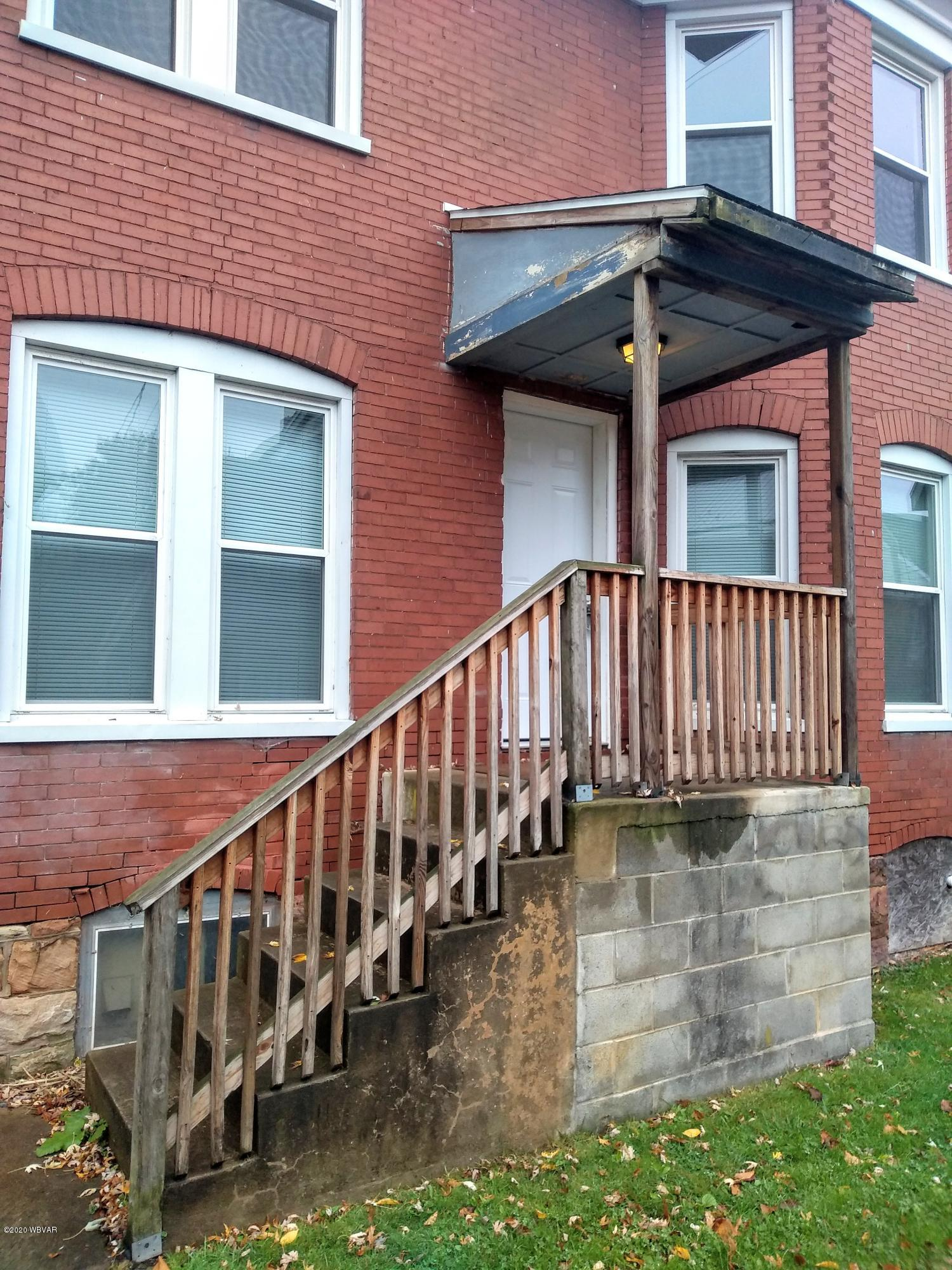 690 FIRST AVENUE, Williamsport, PA 17701, 2 Bedrooms Bedrooms, ,1 BathroomBathrooms,Resid-lease/rental,For sale,FIRST,WB-91419
