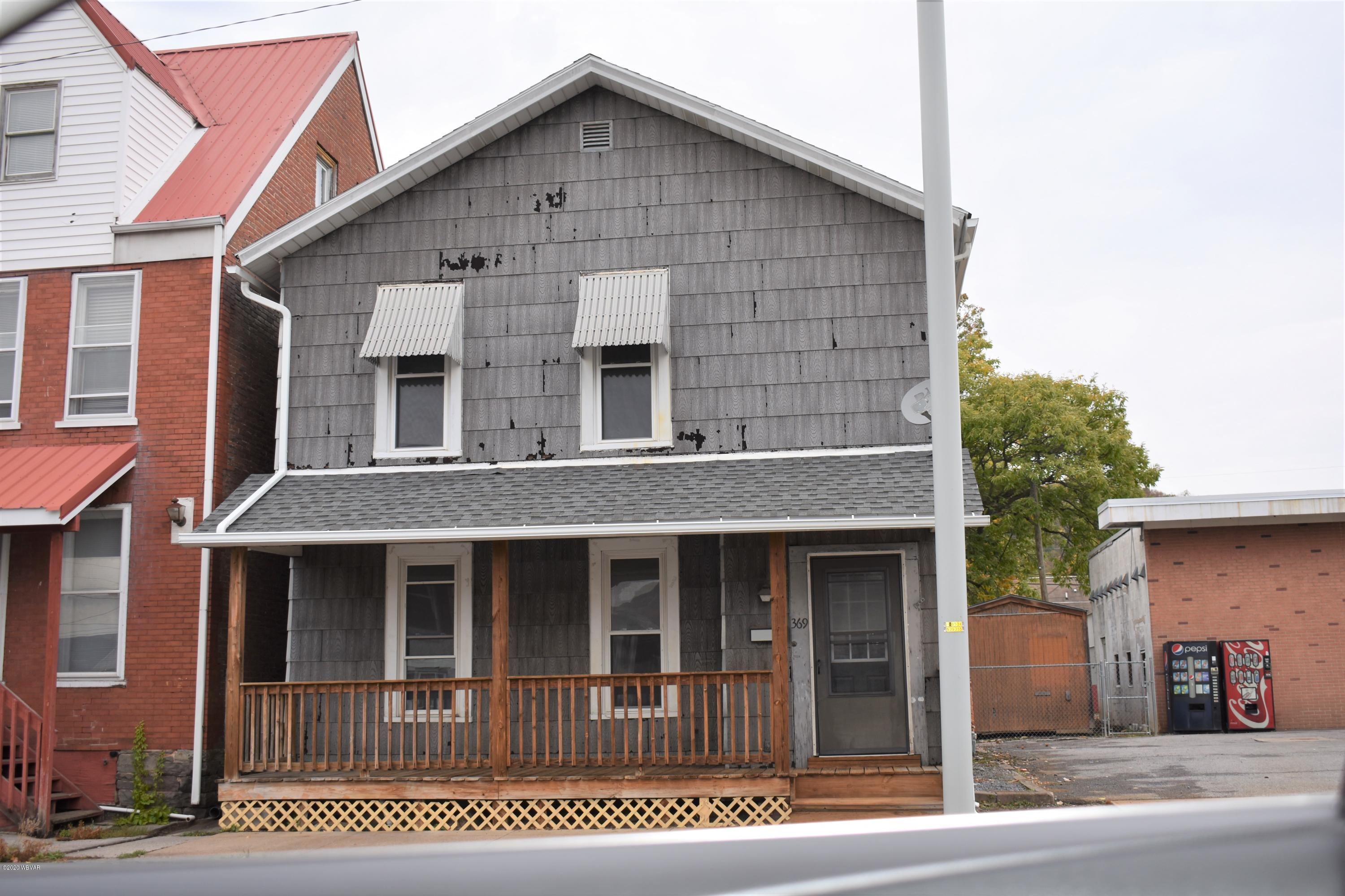 369 MAIN STREET, Lock Haven, PA 17745, 3 Bedrooms Bedrooms, ,2 BathroomsBathrooms,Residential,For sale,MAIN,WB-91413