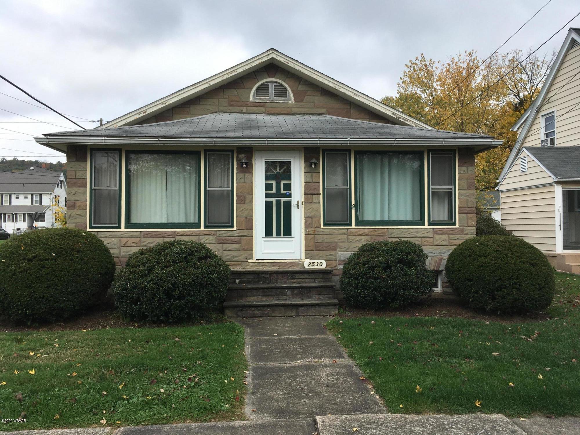 2530 LINN STREET, Williamsport, PA 17701, 3 Bedrooms Bedrooms, ,1 BathroomBathrooms,Residential,For sale,LINN,WB-91427