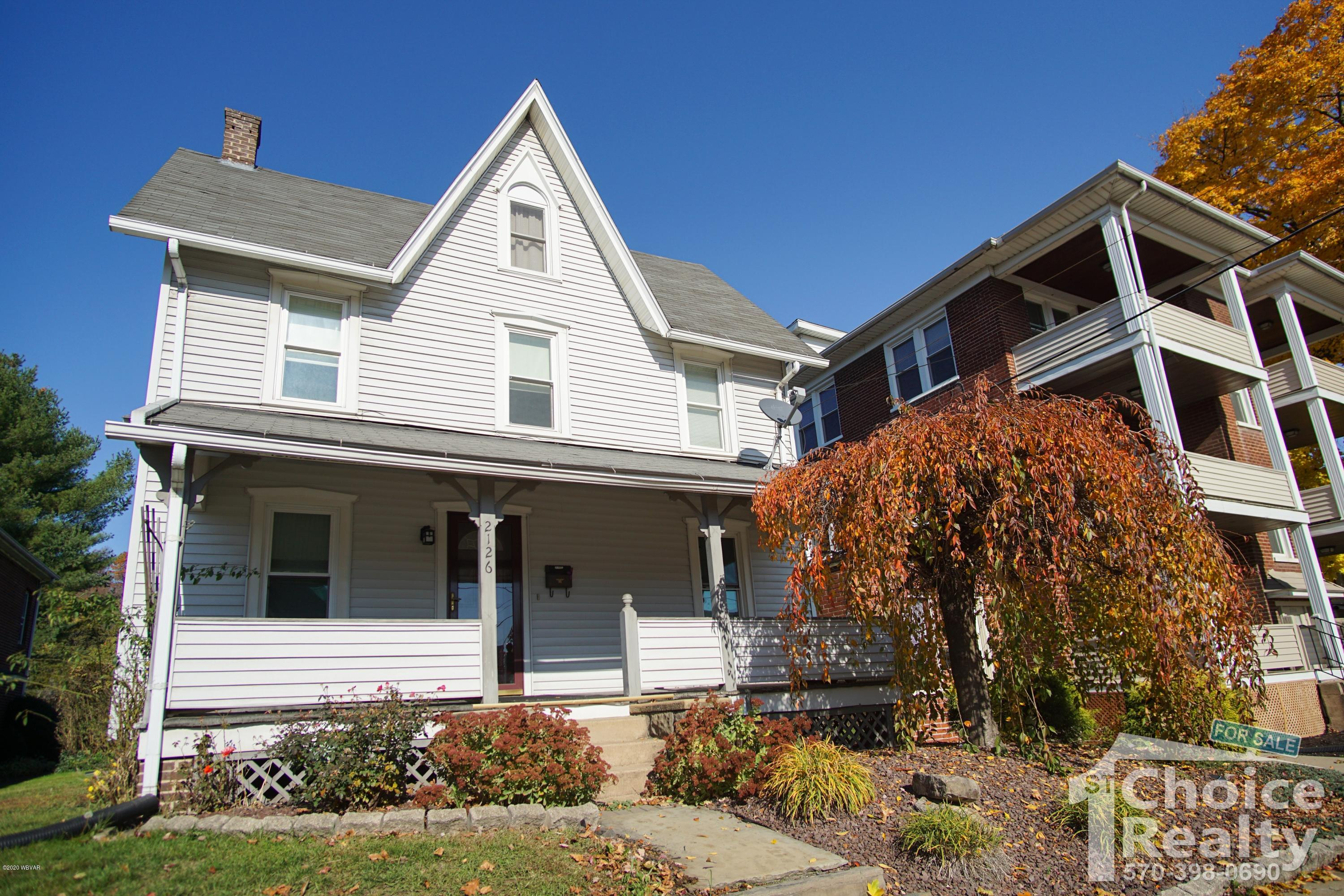 2126 4TH STREET, Williamsport, PA 17701, 3 Bedrooms Bedrooms, ,3 BathroomsBathrooms,Residential,For sale,4TH,WB-91508