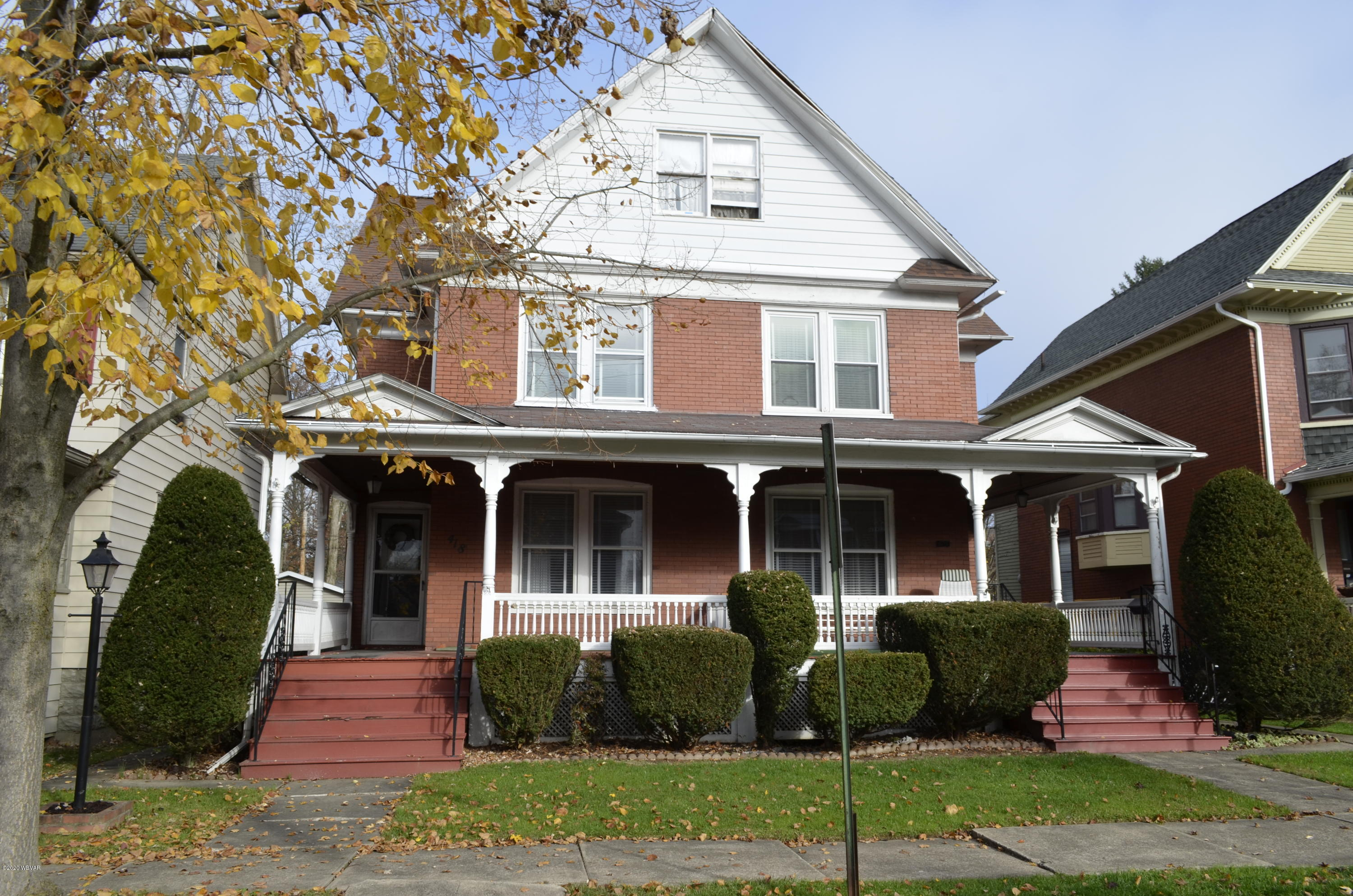 418 HAWTHORNE AVENUE, Williamsport, PA 17701, 3 Bedrooms Bedrooms, ,1 BathroomBathrooms,Residential,For sale,HAWTHORNE,WB-91538