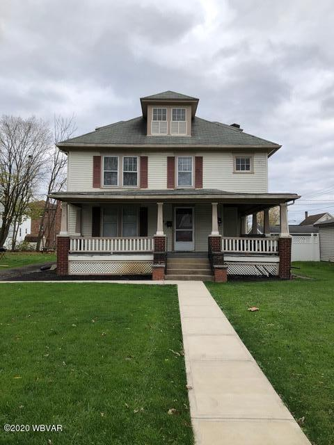 1130 ALMOND STREET, Williamsport, PA 17701, 4 Bedrooms Bedrooms, ,2 BathroomsBathrooms,Residential,For sale,ALMOND,WB-91541