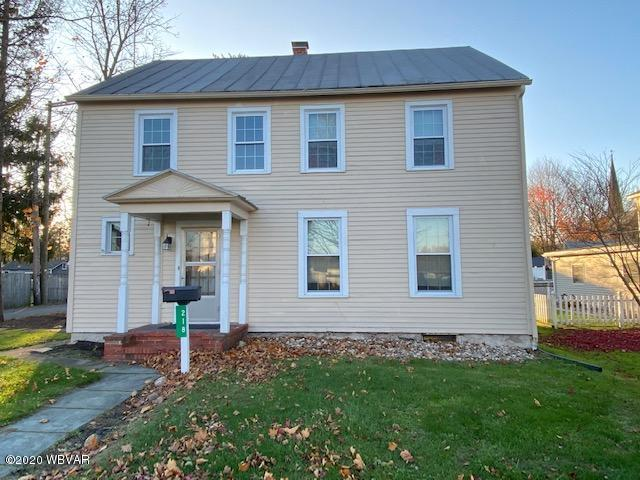 218 WASHINGTON STREET, Muncy, PA 17756, 3 Bedrooms Bedrooms, ,1.5 BathroomsBathrooms,Residential,For sale,WASHINGTON,WB-91555
