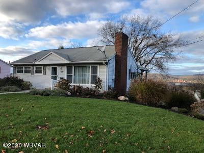 1510 MOUNTAIN AVENUE, S. Williamsport, PA 17702, 3 Bedrooms Bedrooms, ,2 BathroomsBathrooms,Residential,For sale,MOUNTAIN,WB-91564