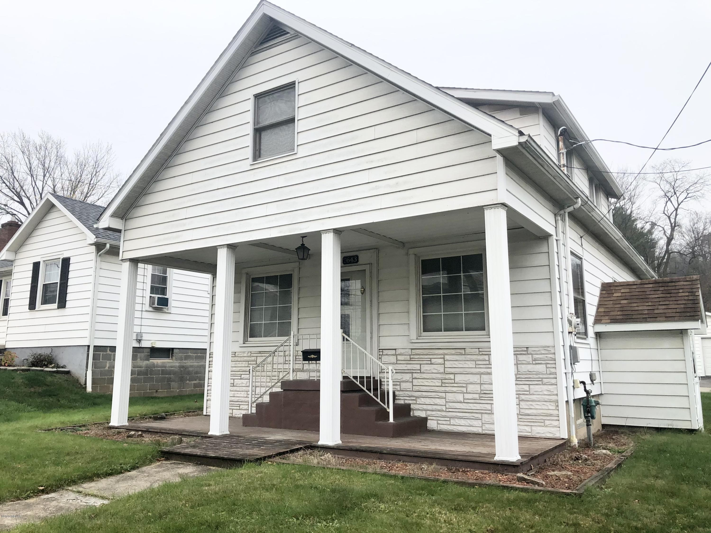 2643 EUCLID AVENUE, S. Williamsport, PA 17702, 3 Bedrooms Bedrooms, ,1.5 BathroomsBathrooms,Residential,For sale,EUCLID,WB-91566
