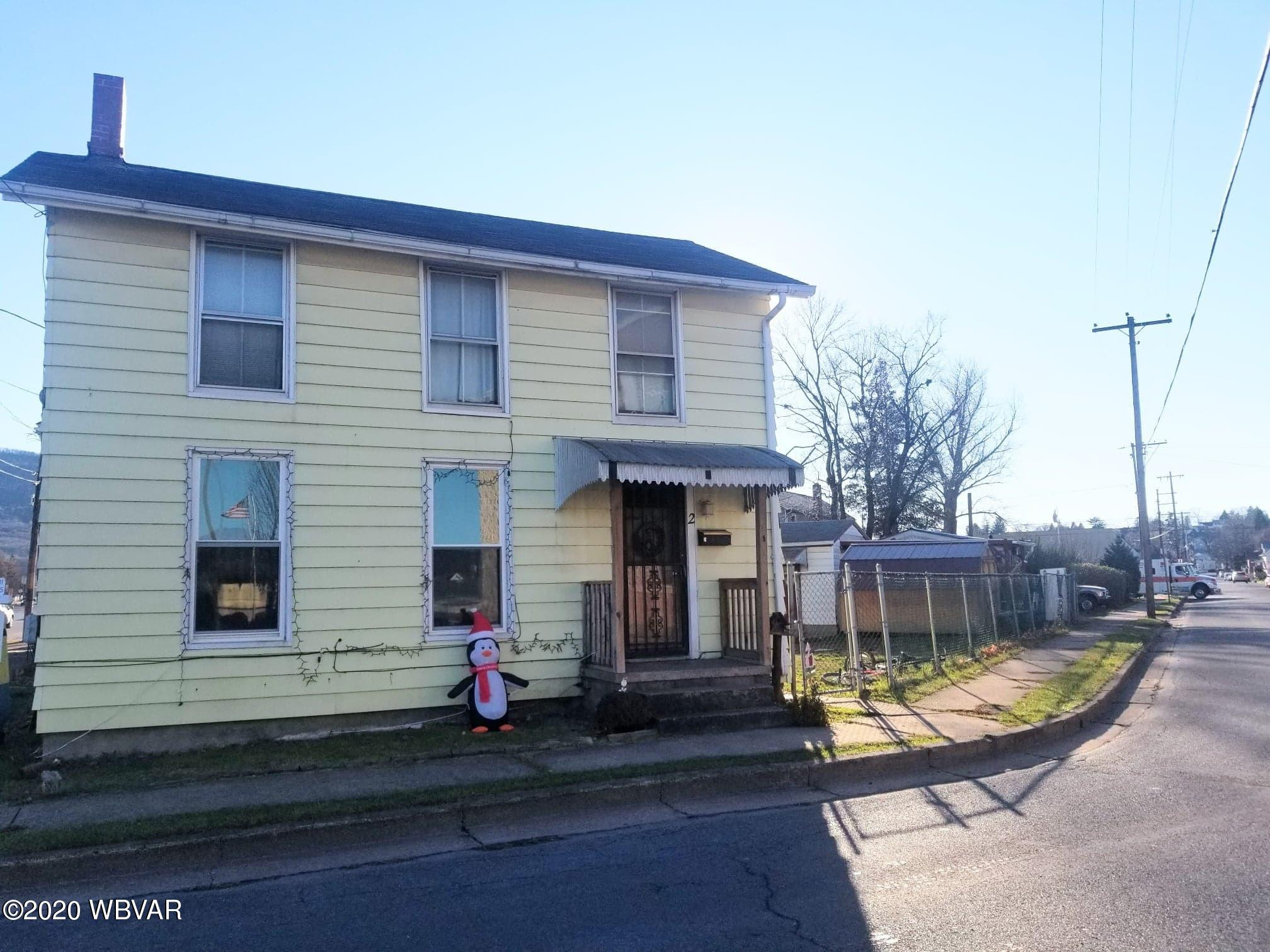 2 CLINTON STREET, Lock Haven, PA 17745, 3 Bedrooms Bedrooms, ,1 BathroomBathrooms,Residential,For sale,CLINTON,WB-90077