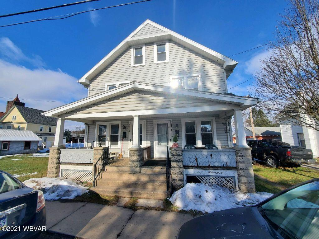 2016 GLYNN AVENUE, Williamsport, PA 17701, ,Multi-units,For sale,GLYNN,WB-91729
