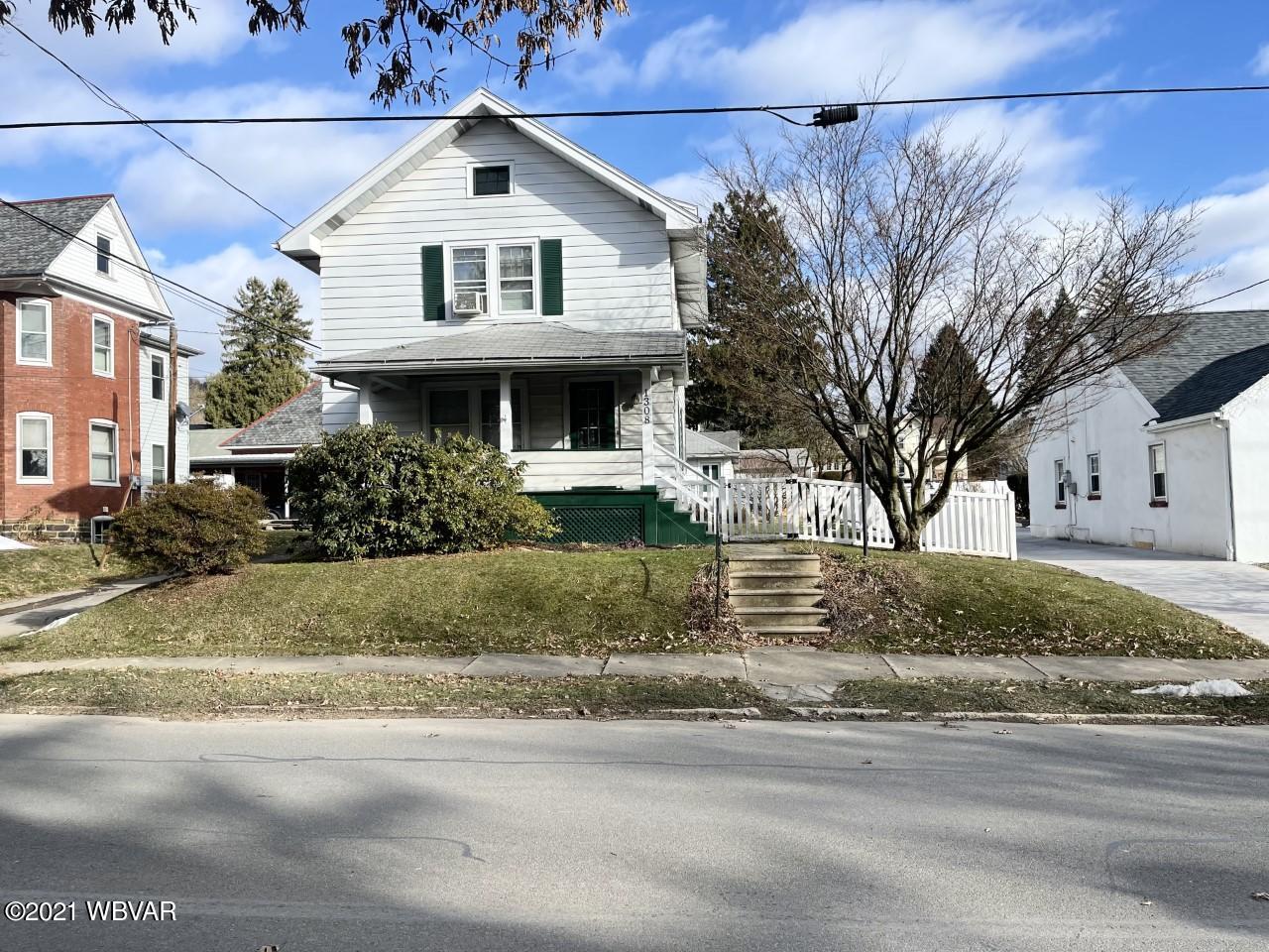 1308 MARKET STREET, Williamsport, PA 17701, 3 Bedrooms Bedrooms, ,1 BathroomBathrooms,Residential,For sale,MARKET,WB-91792