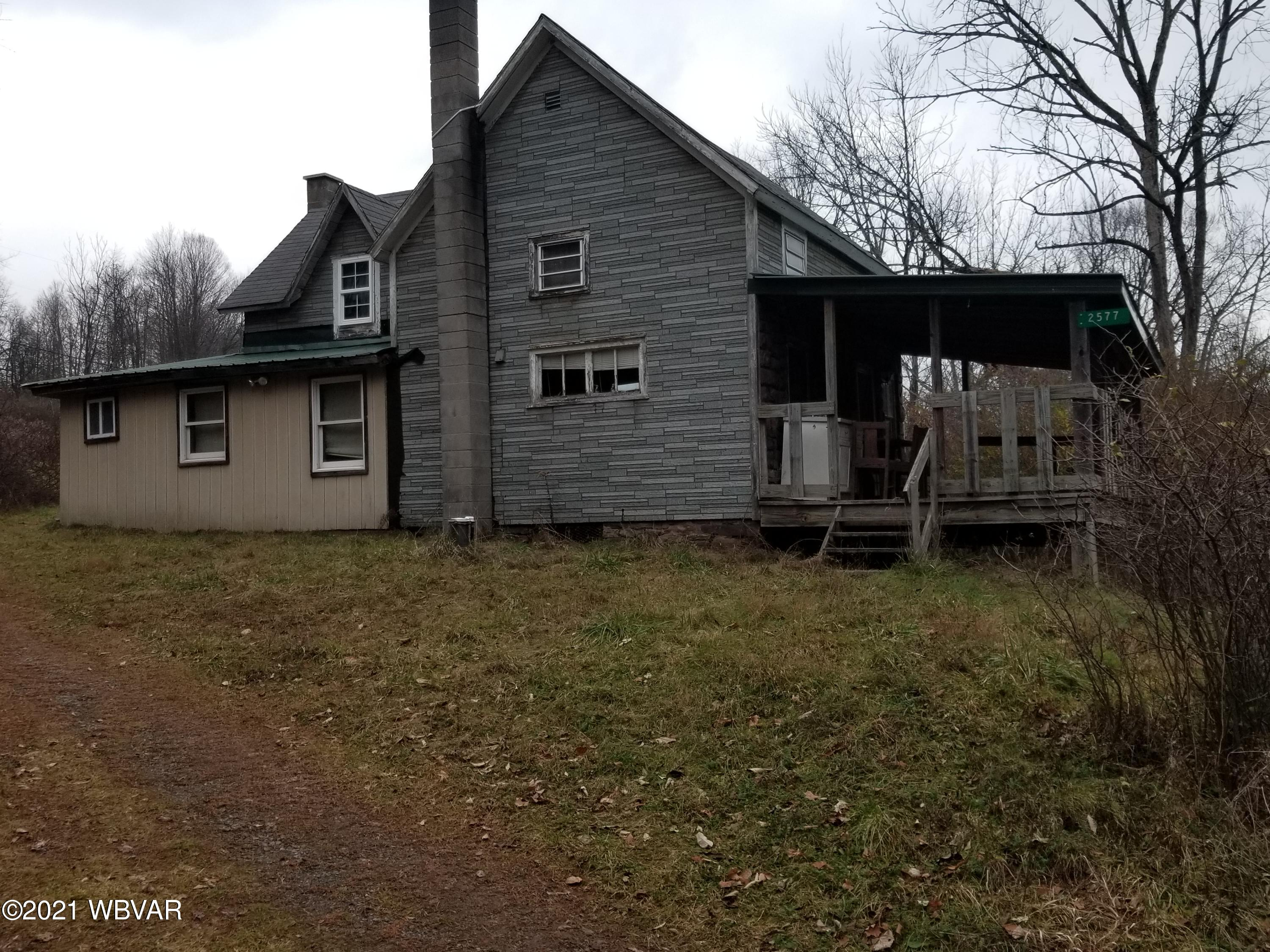 2577 WHISKEY RUN ROAD, Muncy Valley, PA 17758, 3 Bedrooms Bedrooms, ,1 BathroomBathrooms,Cabin/vacation home,For sale,WHISKEY RUN,WB-91794