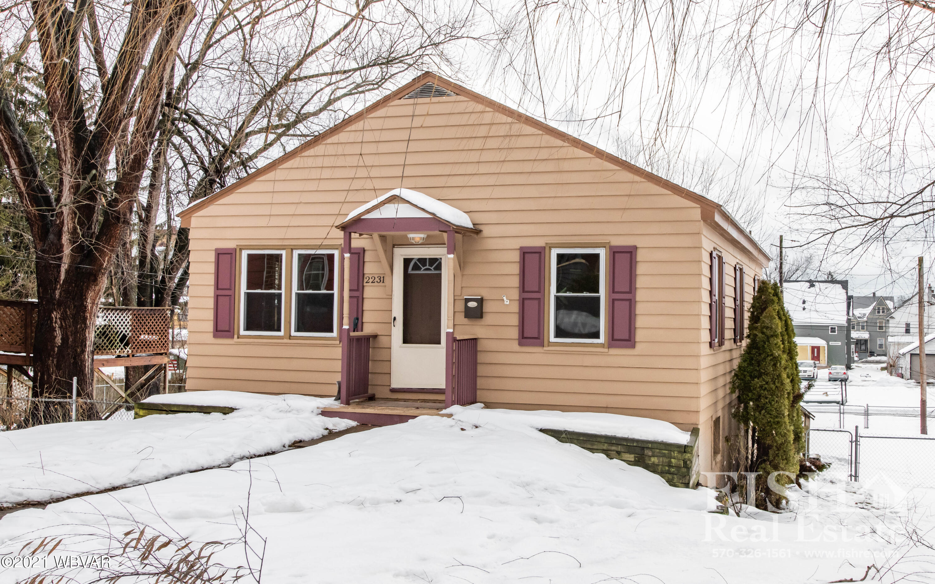 2231 NEWBERRY STREET, Williamsport, PA 17701, 3 Bedrooms Bedrooms, ,2 BathroomsBathrooms,Residential,For sale,NEWBERRY,WB-91910