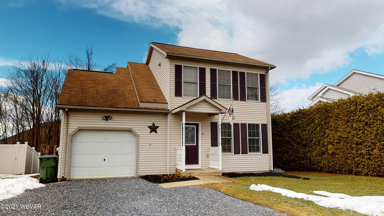 31 TERRACE LANE, Williamsport, PA 17701, 3 Bedrooms Bedrooms, ,1.5 BathroomsBathrooms,Residential,For sale,TERRACE,WB-91974