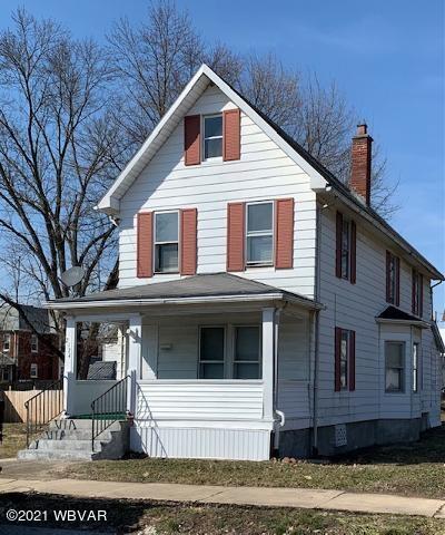 2124 WEBB STREET, Williamsport, PA 17701, 3 Bedrooms Bedrooms, ,1 BathroomBathrooms,Residential,For sale,WEBB,WB-92018
